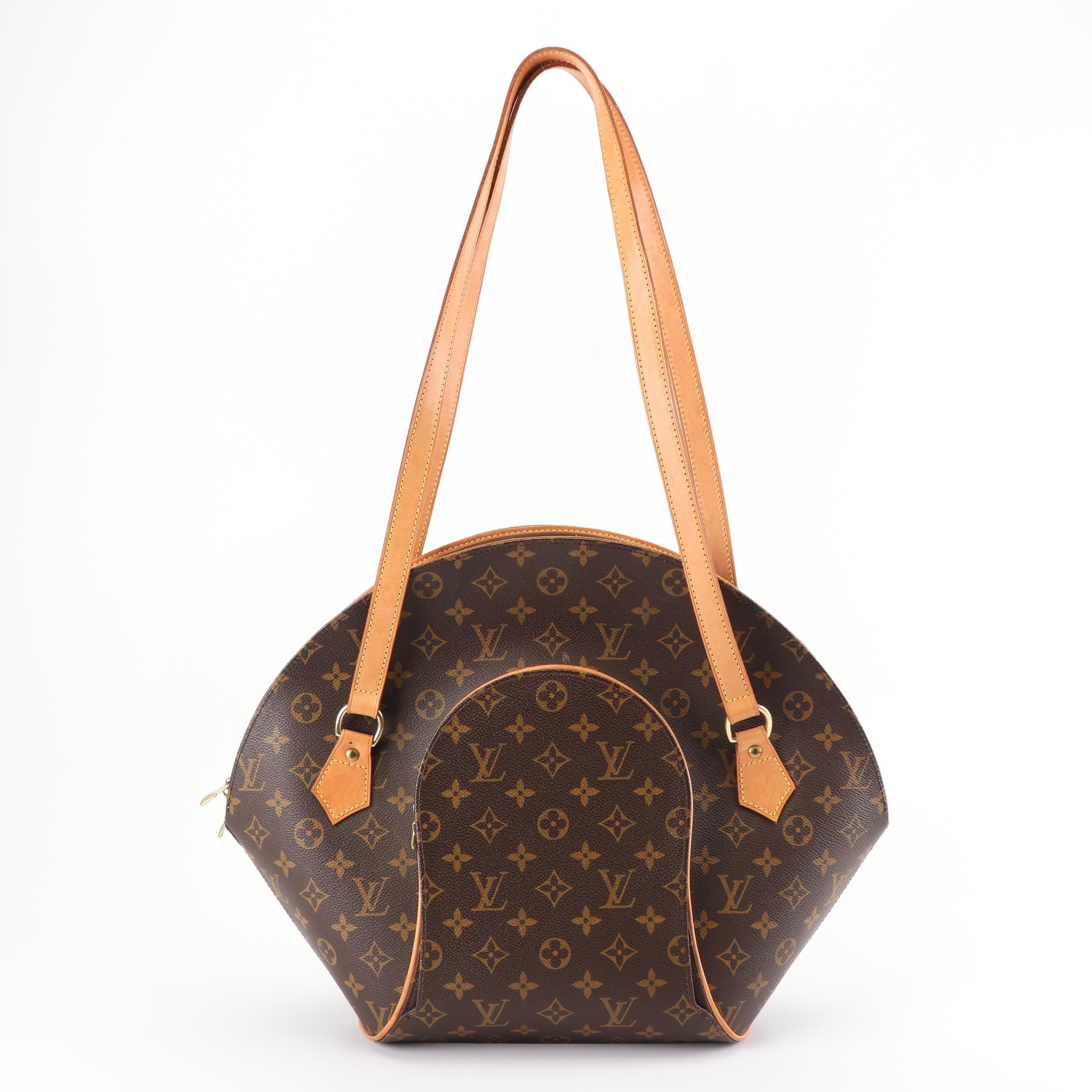 Louis Vuitton Paris Ellipse Monogram Coated Canvas and Leather Bowler Bag, 1998