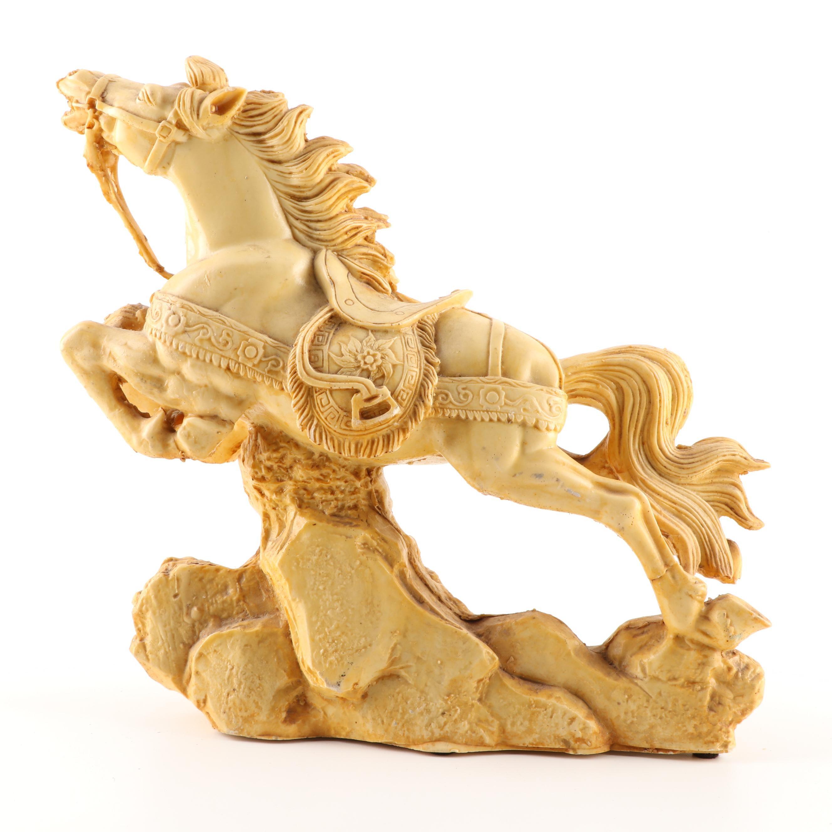 Cast Resin Figure of Horse