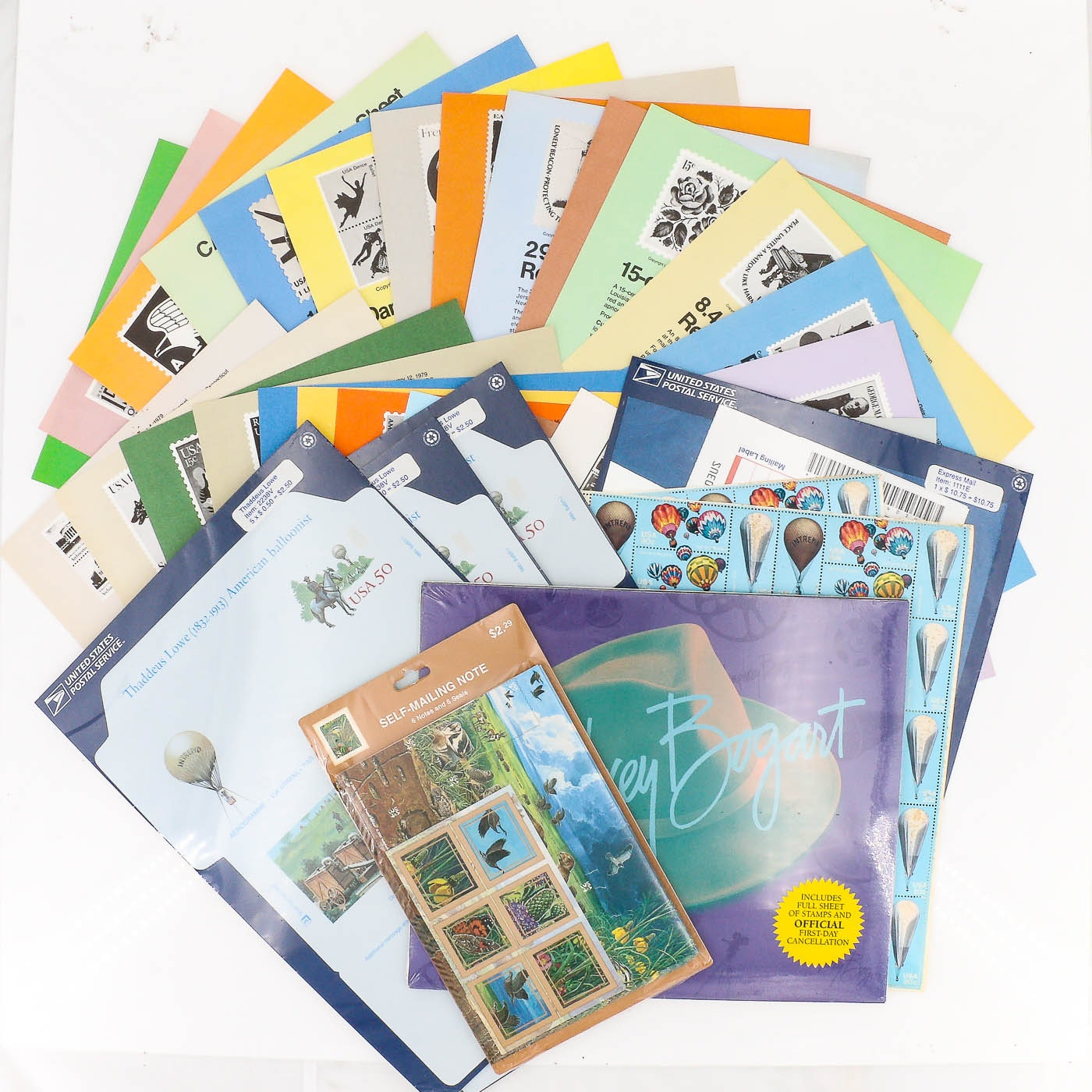 Group of U.S. Postage Stamps, Postage Covers, and Commemorative Stamp Collection
