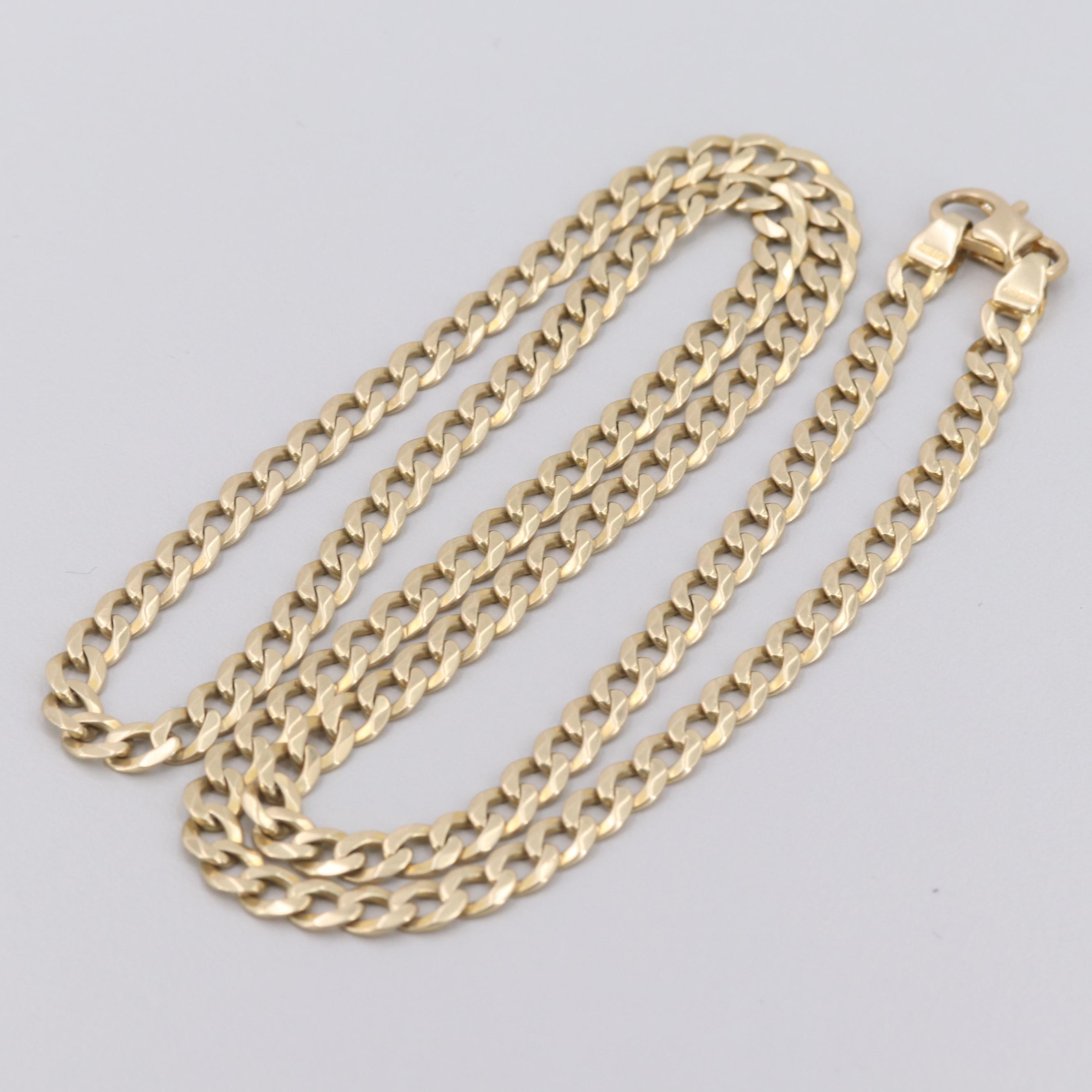 Aurafin 14K Yellow Gold Necklace
