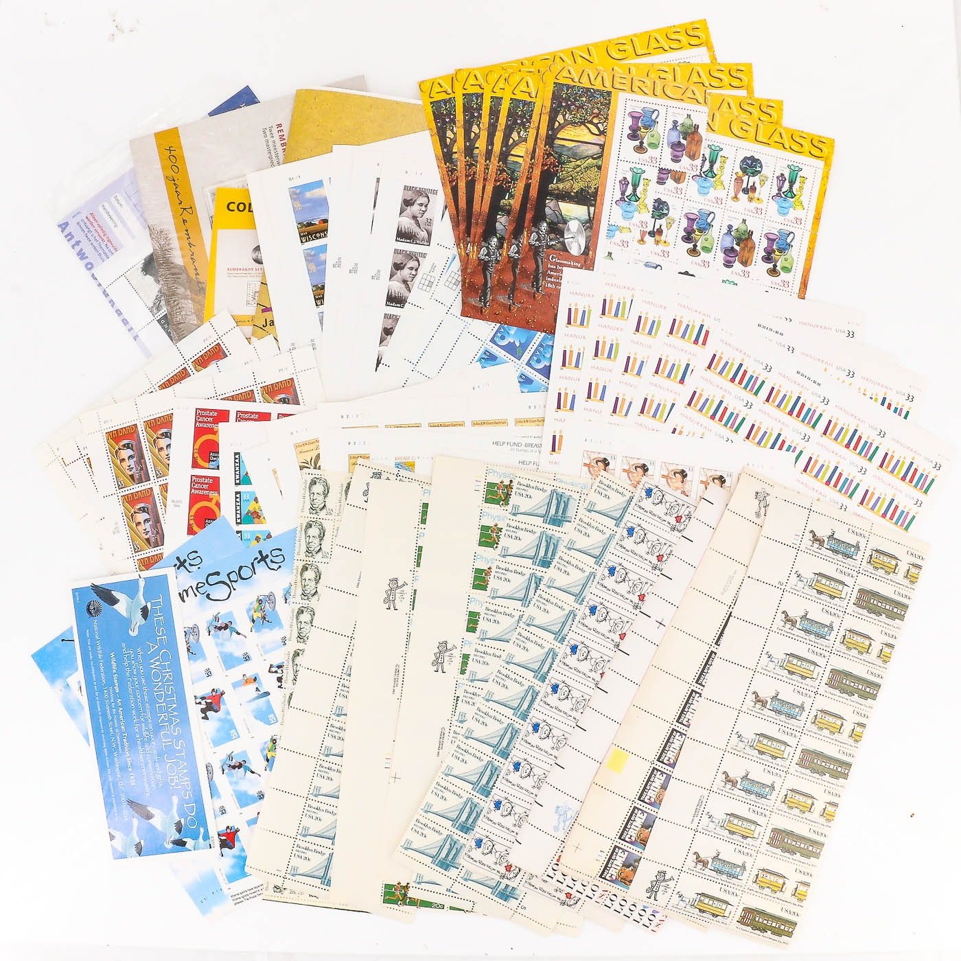 Group of U.S. and Foreign Stamps