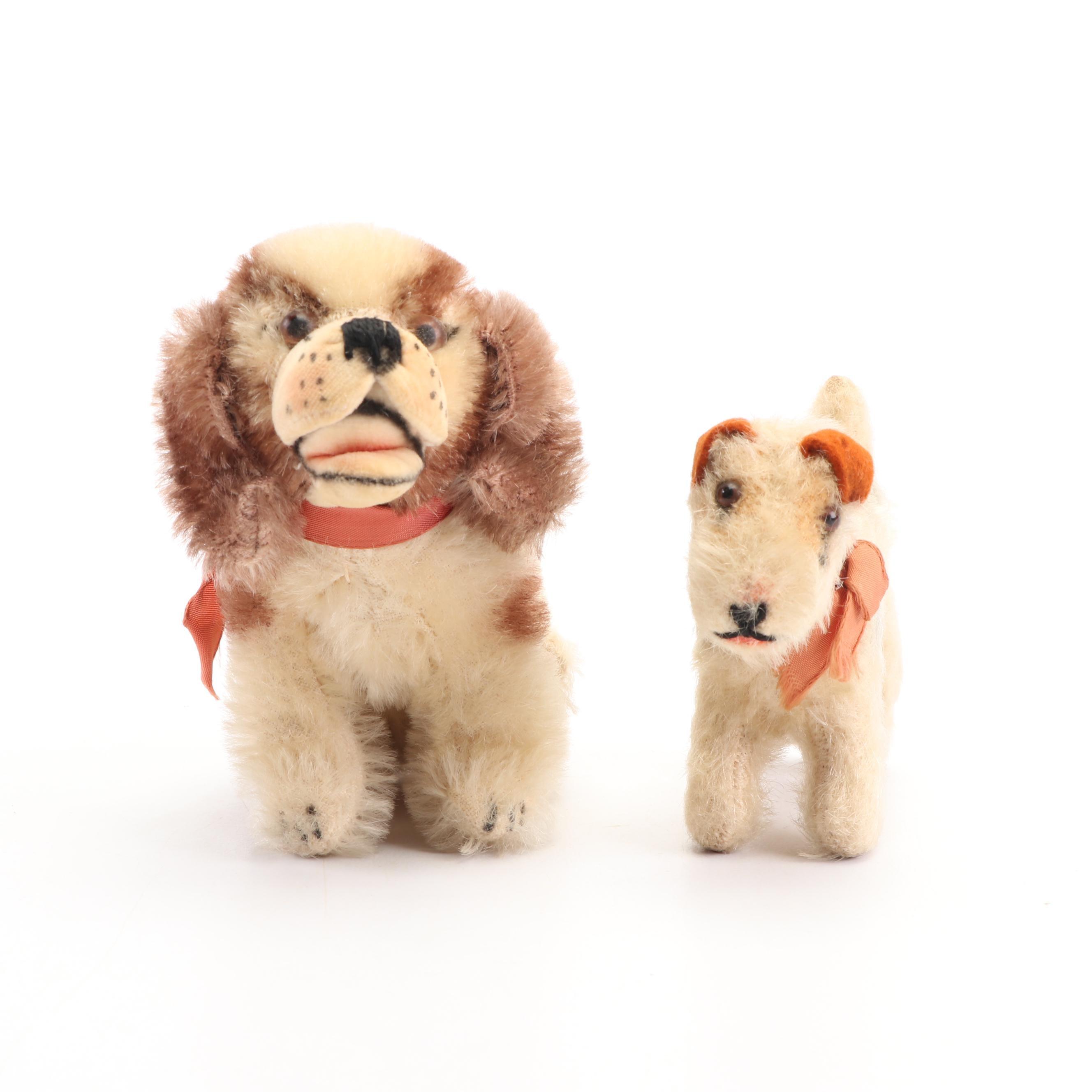 "Vintage Steiff ""Cockie"" Cocker Spaniel Terrier"