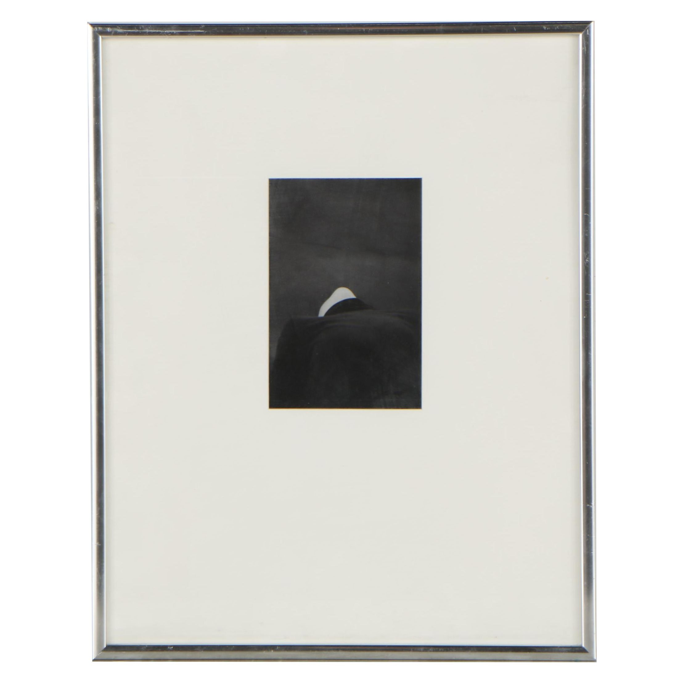 20th Century Silver Gelatin of Abstract Portrait
