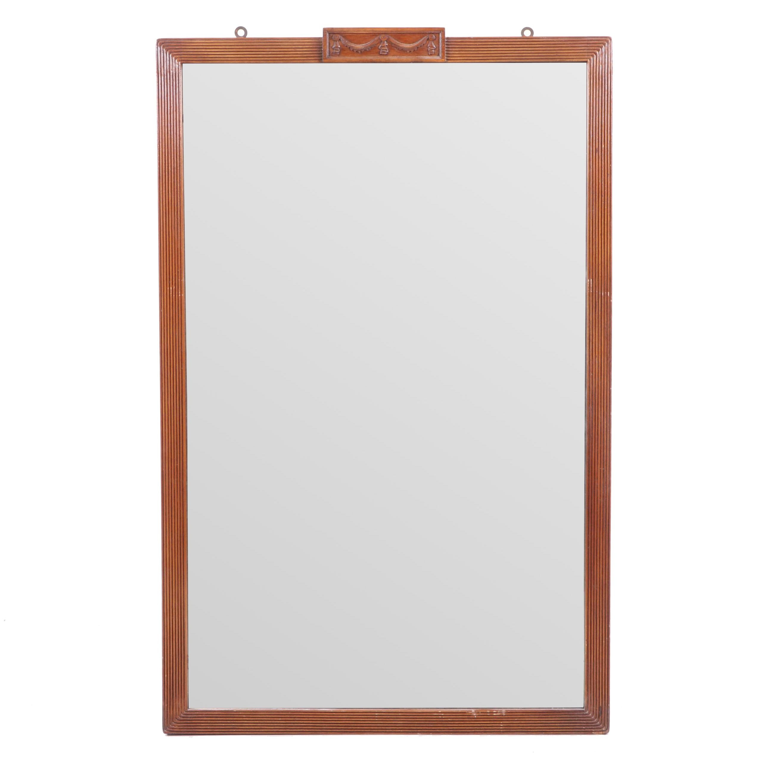 Empire Style Wood Framed Mirror Mirror