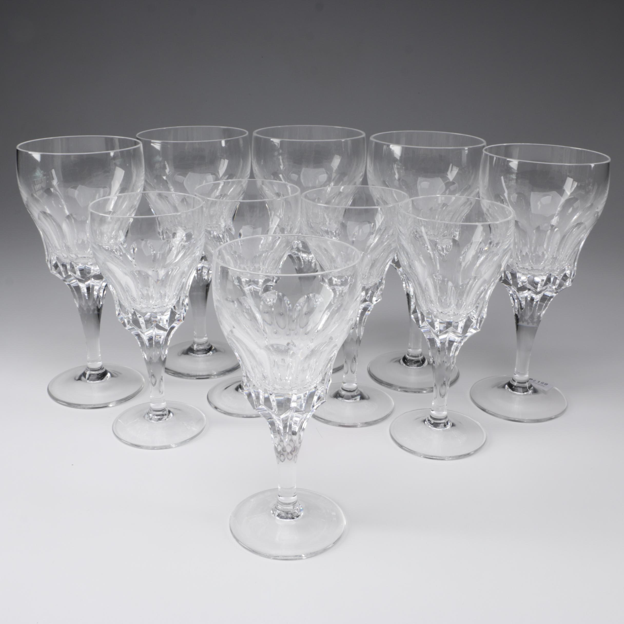 Crystal Wine and Claret Glasses
