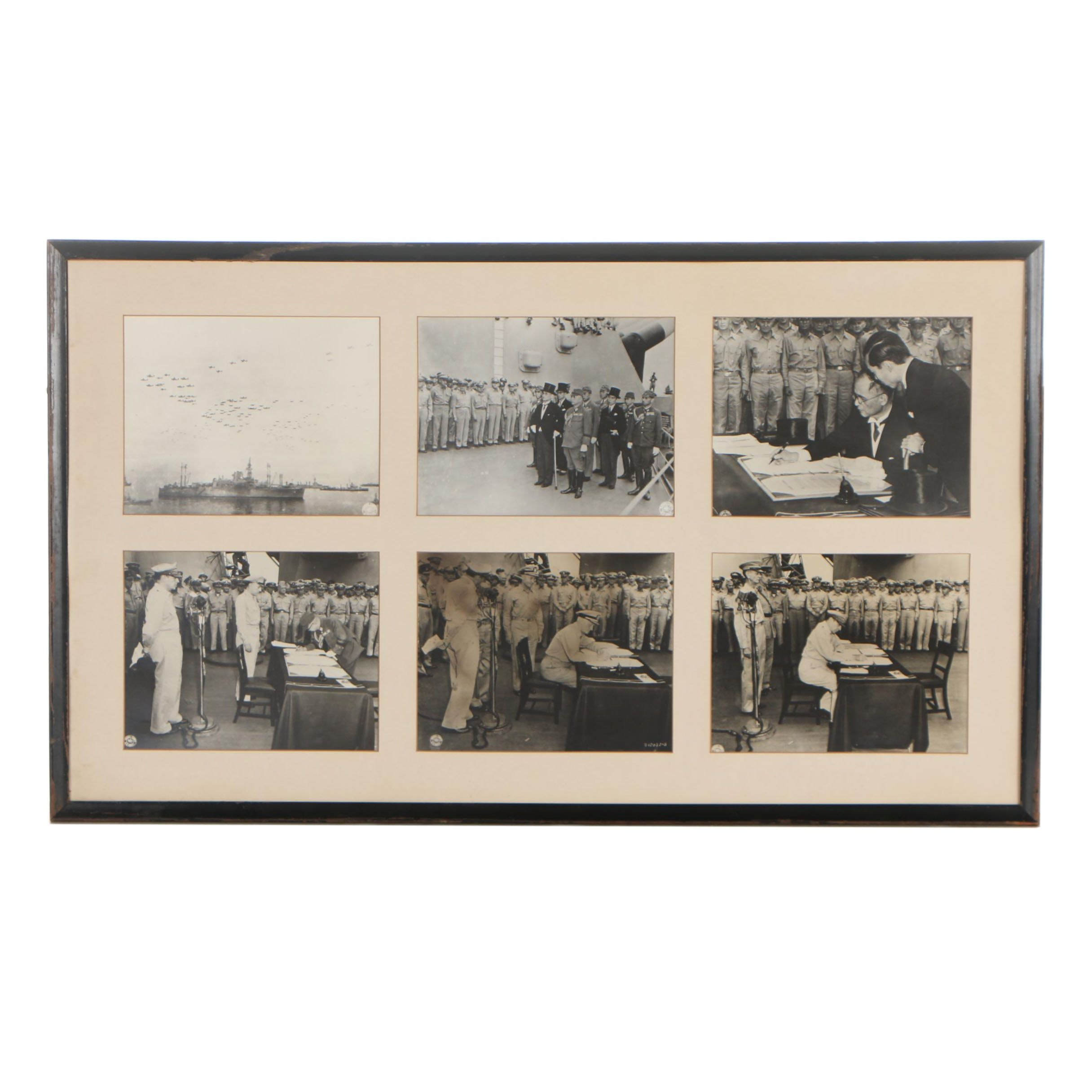 U.S. Army Signal Corps Silver Gelatin Photographs from WWII