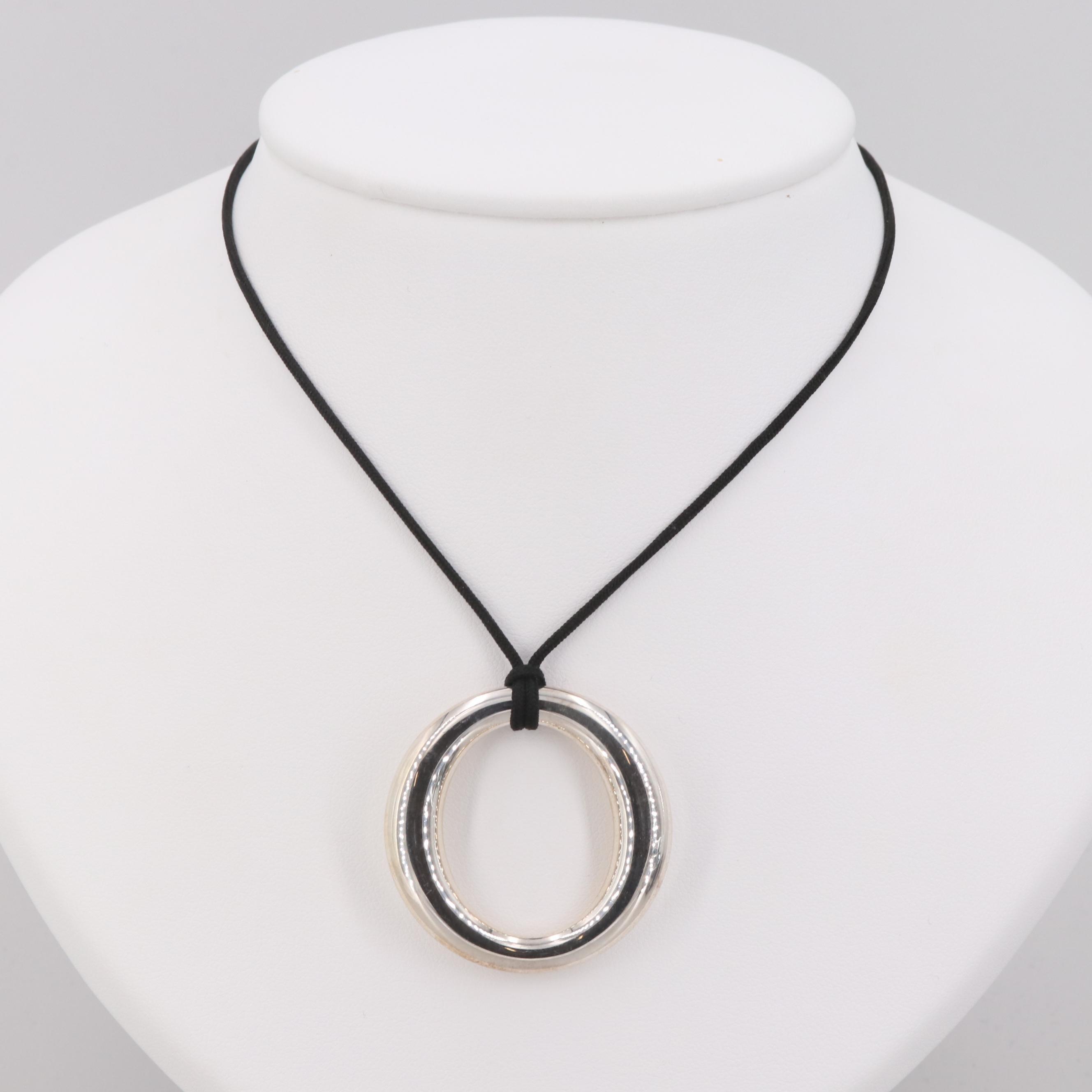 """Elsa Peretti for Tiffany & Co. """"Sevillana"""" Sterling Silver Necklace"""