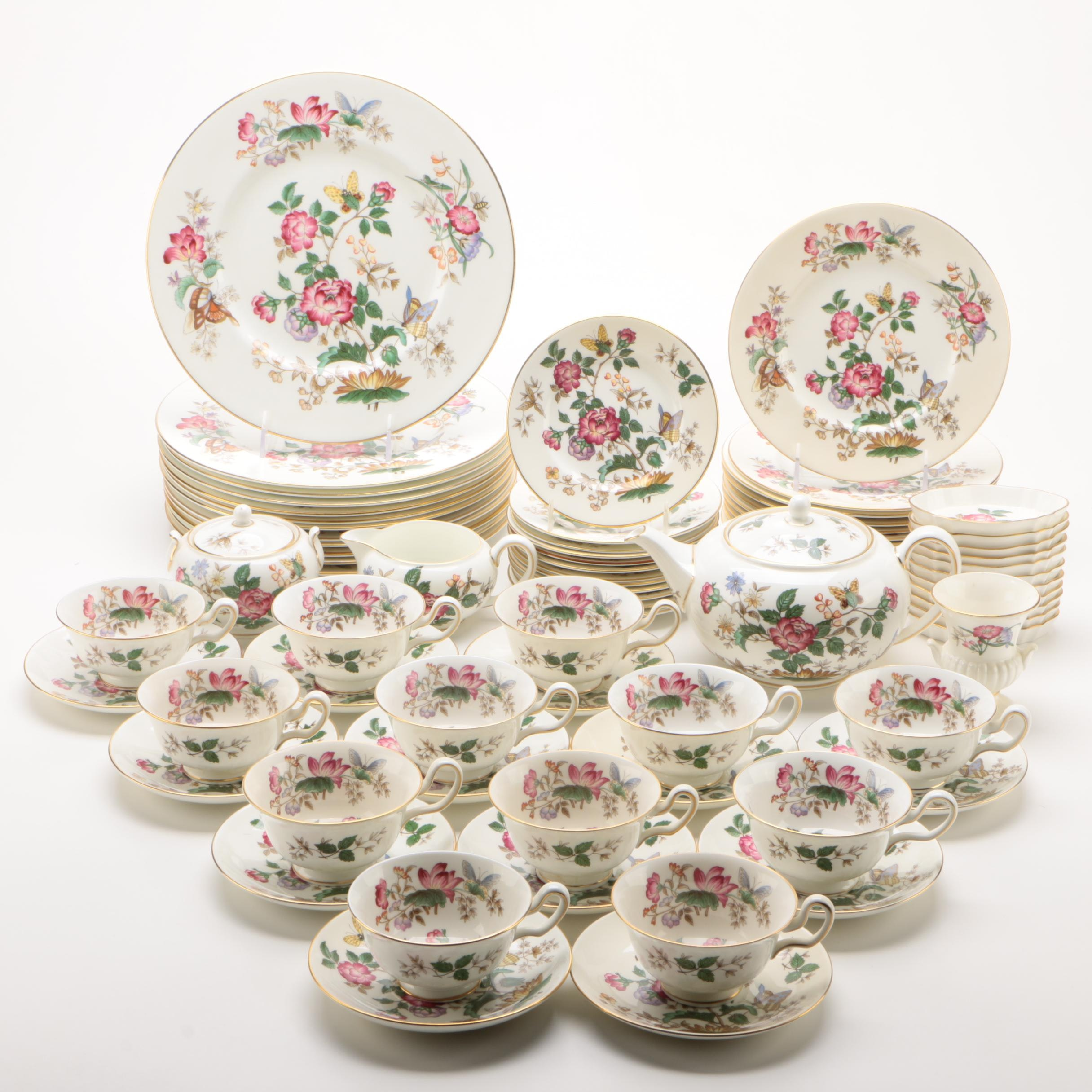 "Wedgwood ""Charnwood"" Dinnerware and Tea Service"