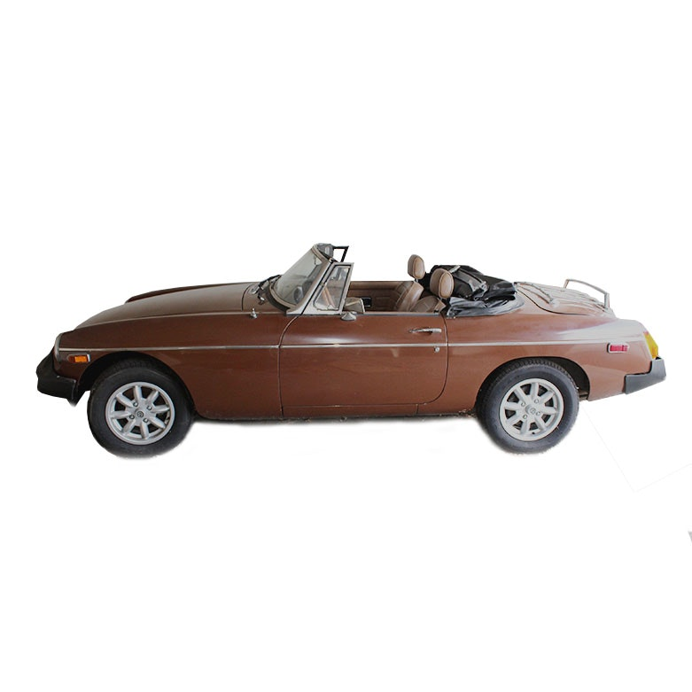 1980 MG MGB Two-Door Drop-Top Convertible