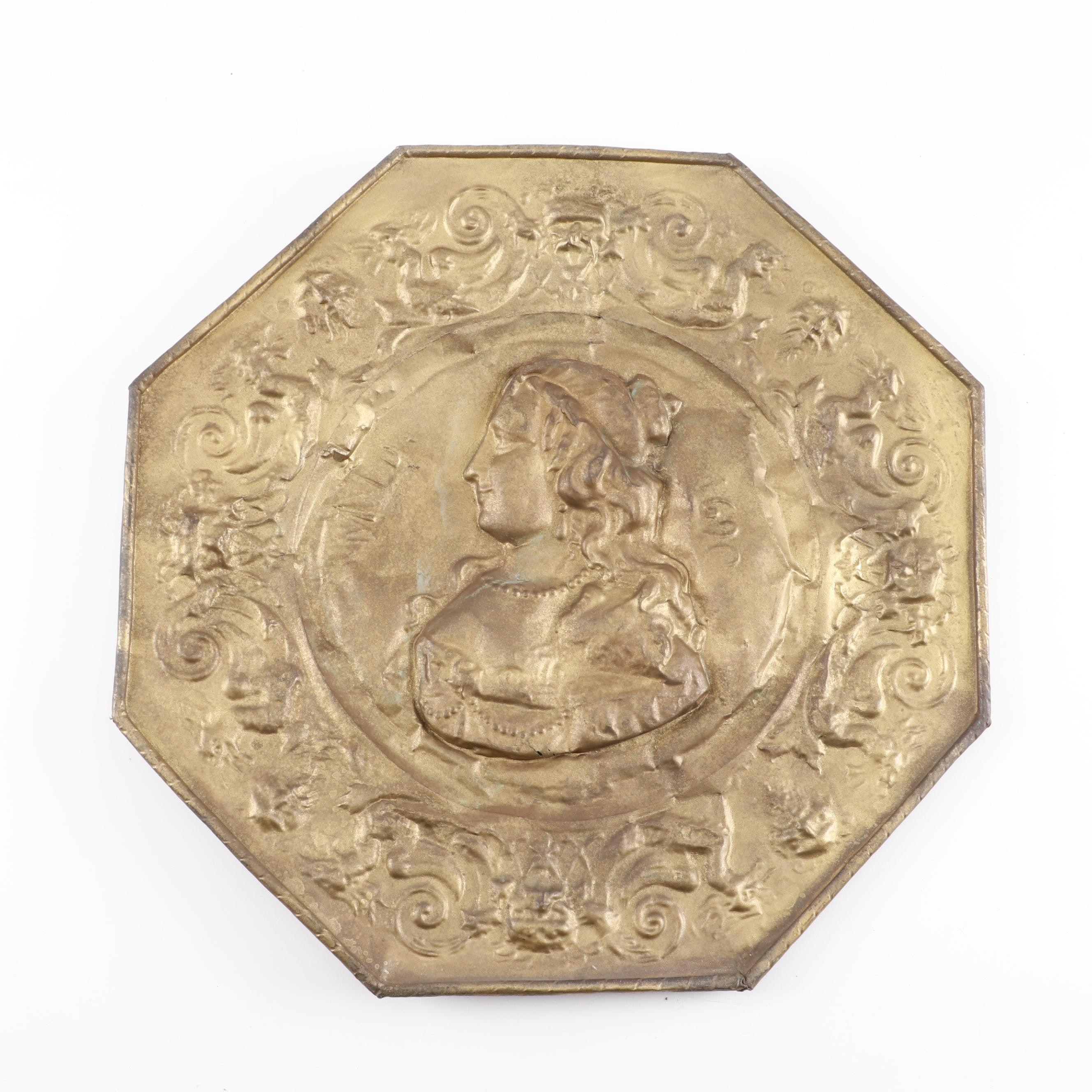 Wall Hanging of Replicated 1690 Coin