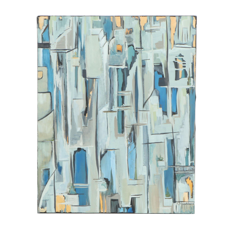 "Kristina Taherzadeh Oil Painting ""Hera's House"""