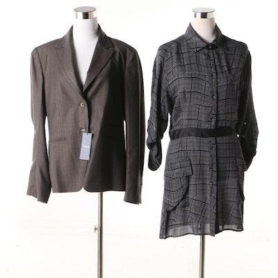 Façonnable Jacket and Rag & Bone Dress