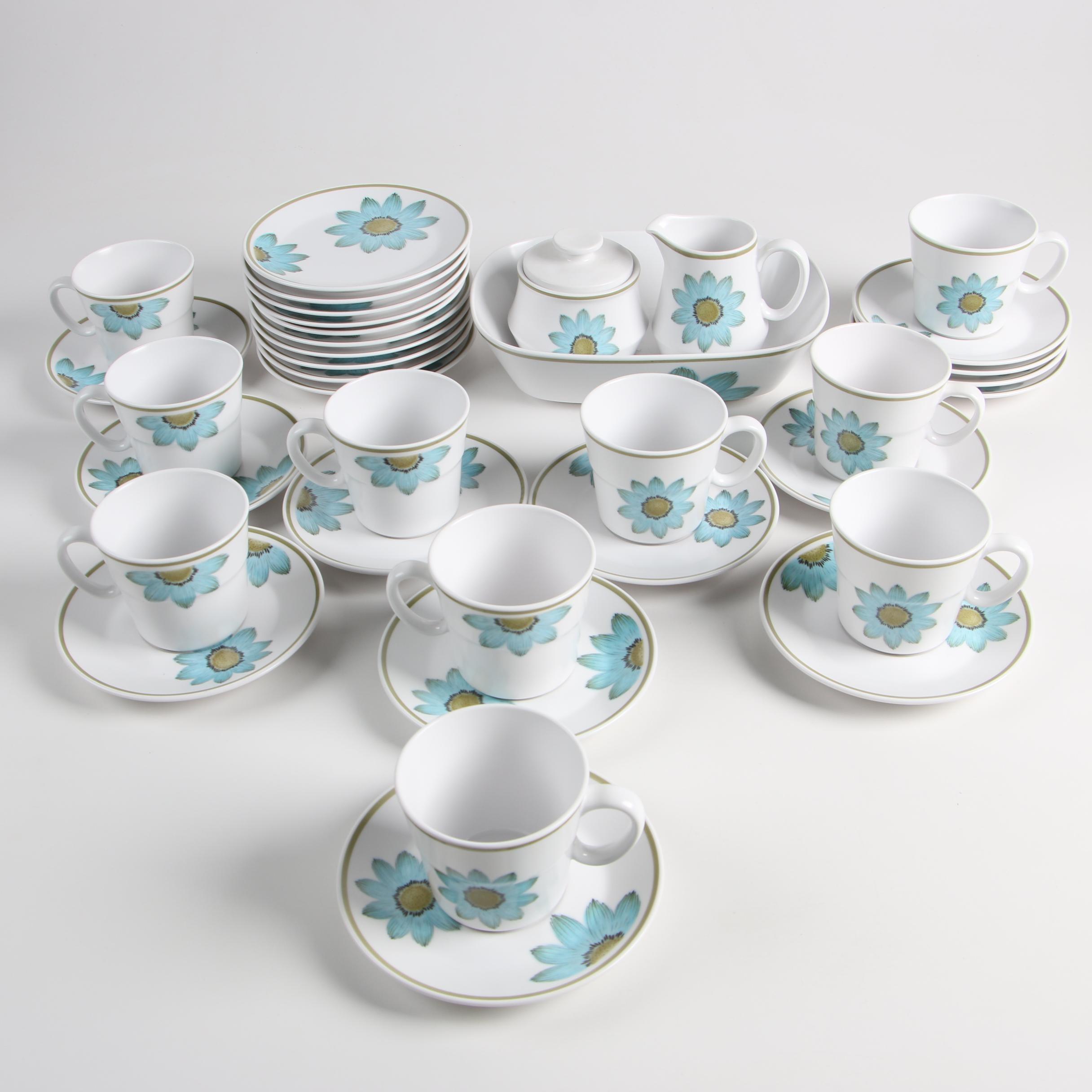 "Noritake Progression China ""Up-Sa Daisy"" Dinnerware"