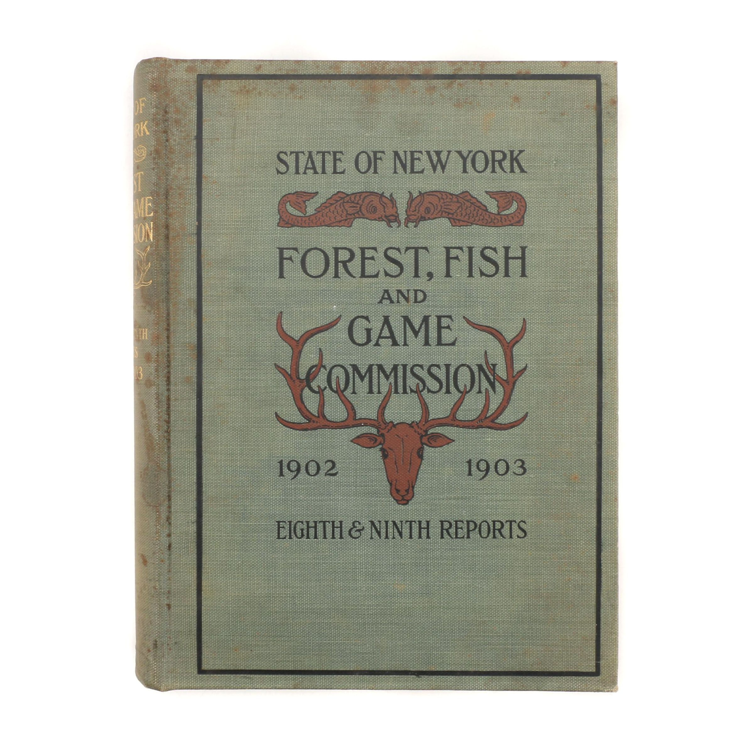 1902-1903 New York Forest, Fish, and Game Commission Report