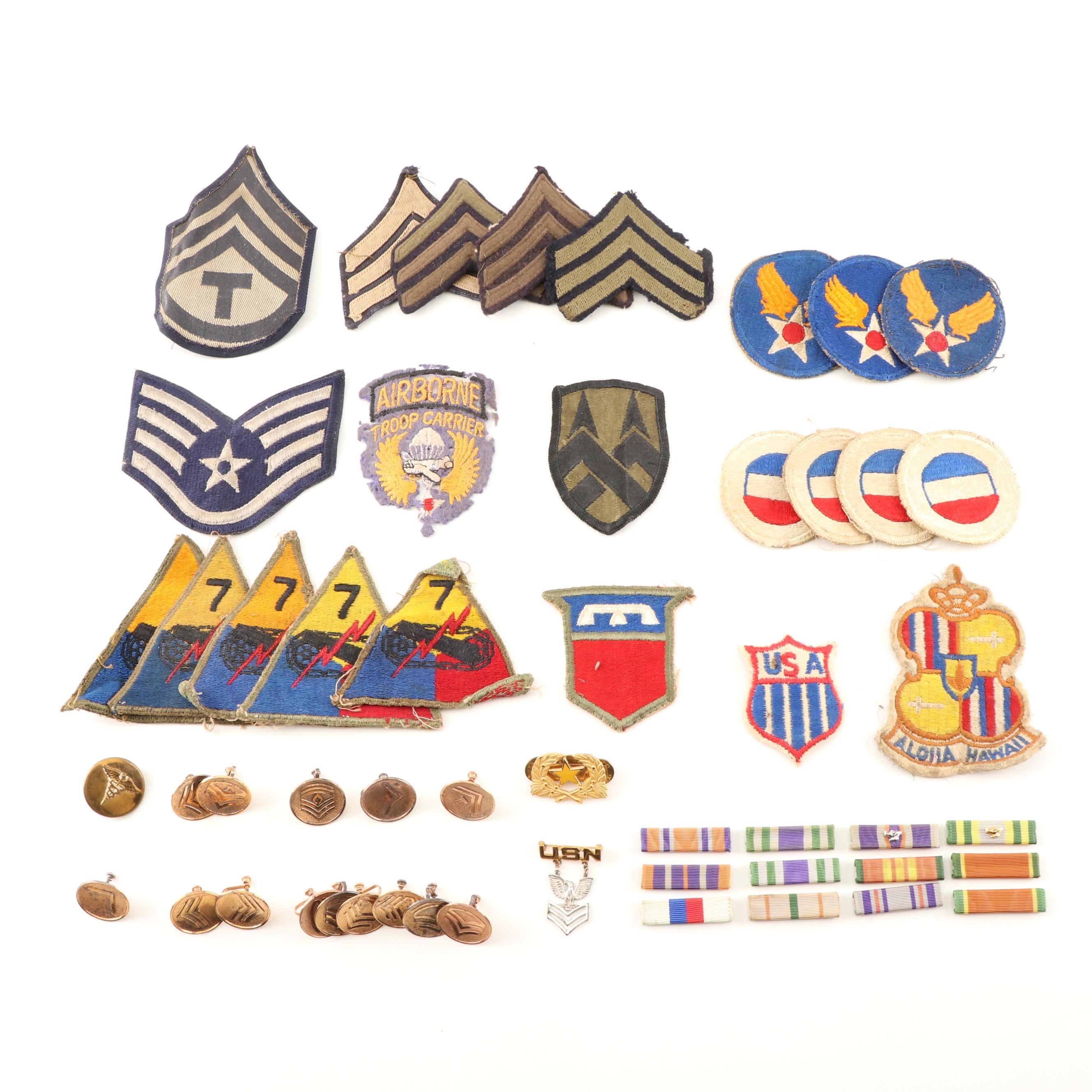 Military Uniform Patches, Insignia, and Pins