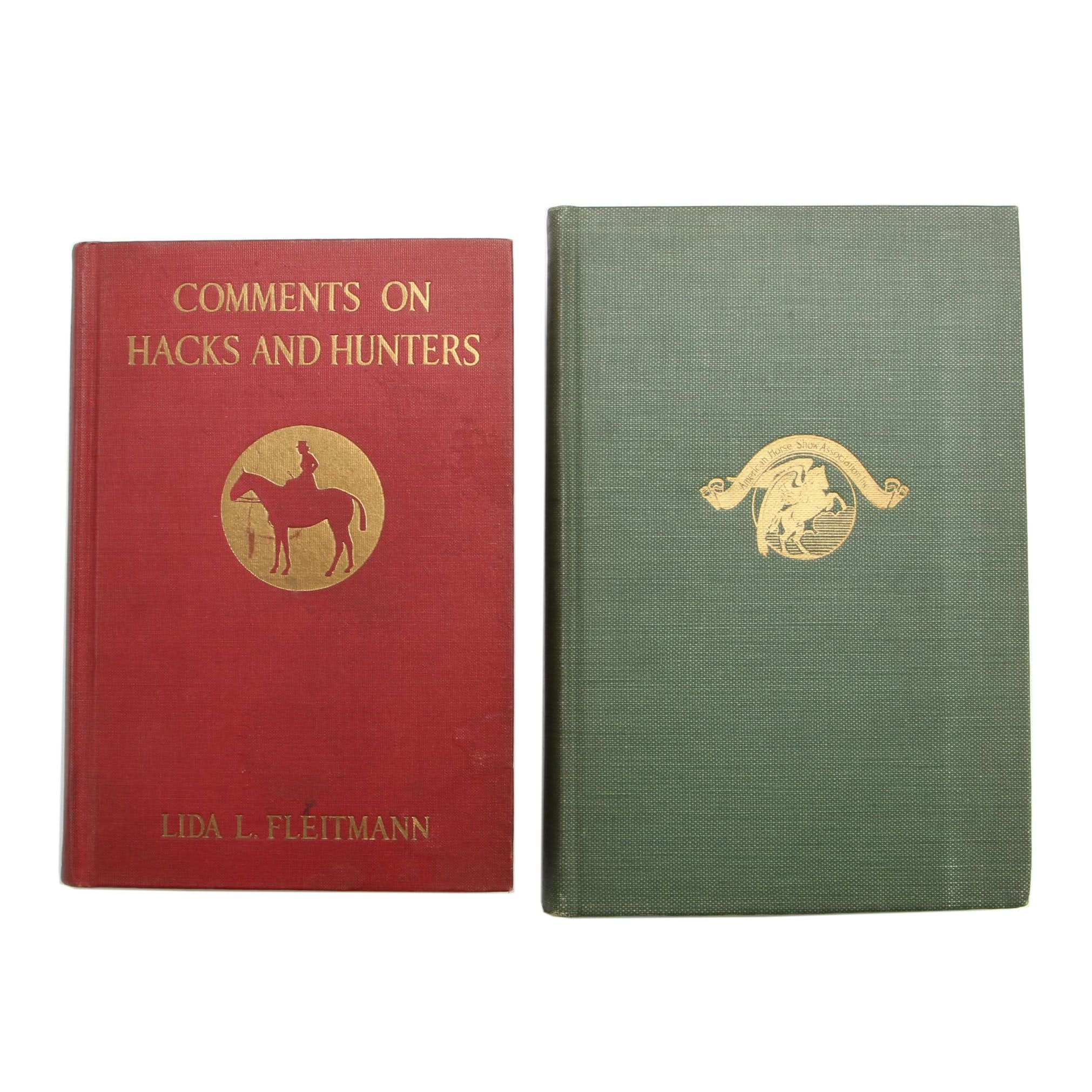 Vintage Equestrian Related Books