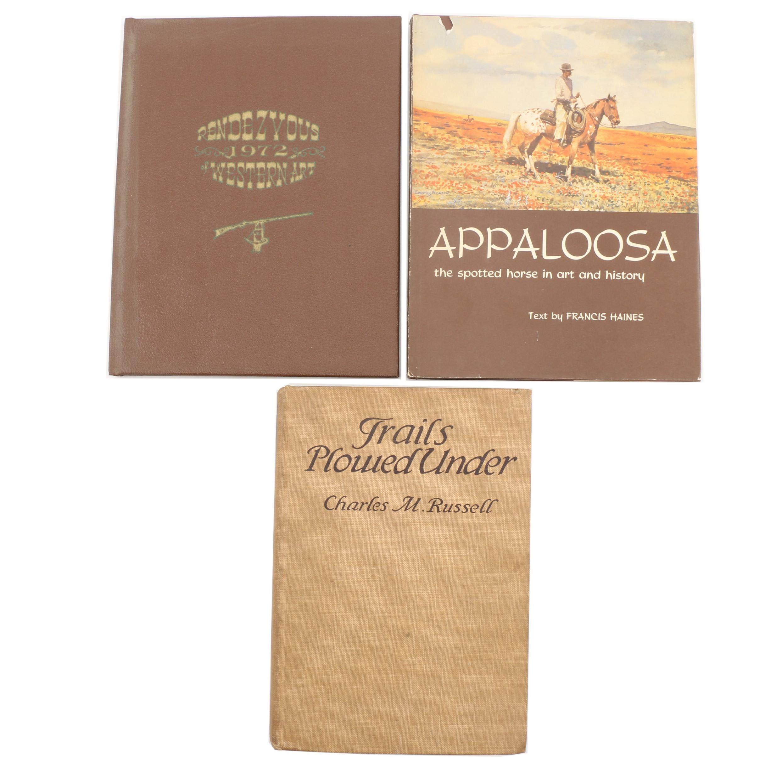 Vintage Western Novels and Books