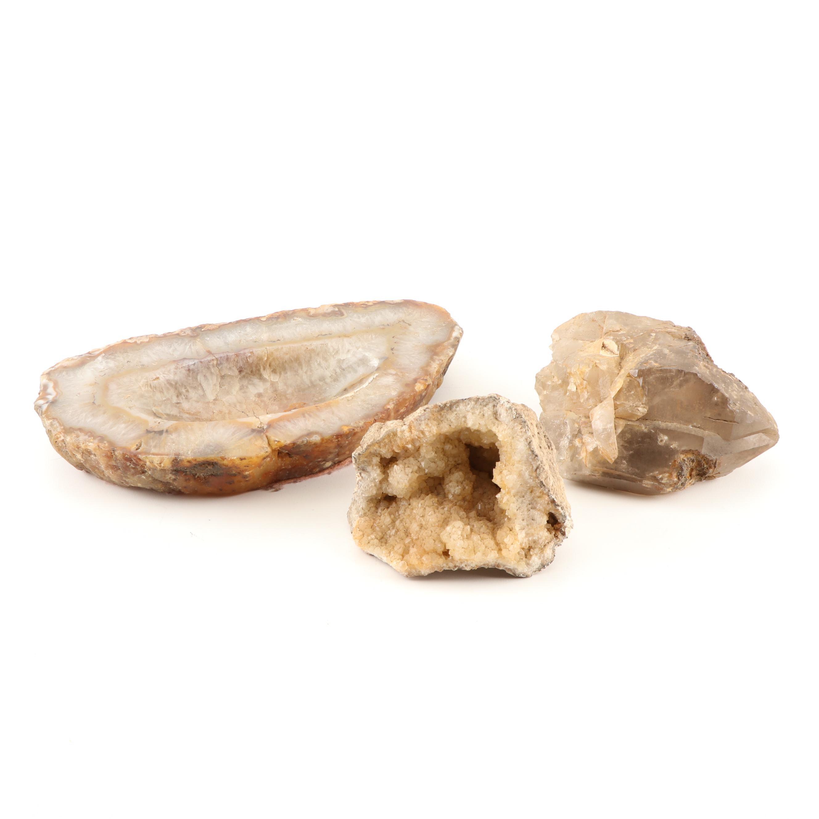 Quartz Geode Specimens