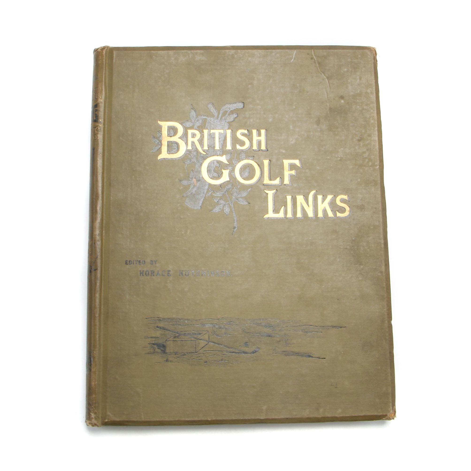 "1897 Illustrated ""British Golf Links"""