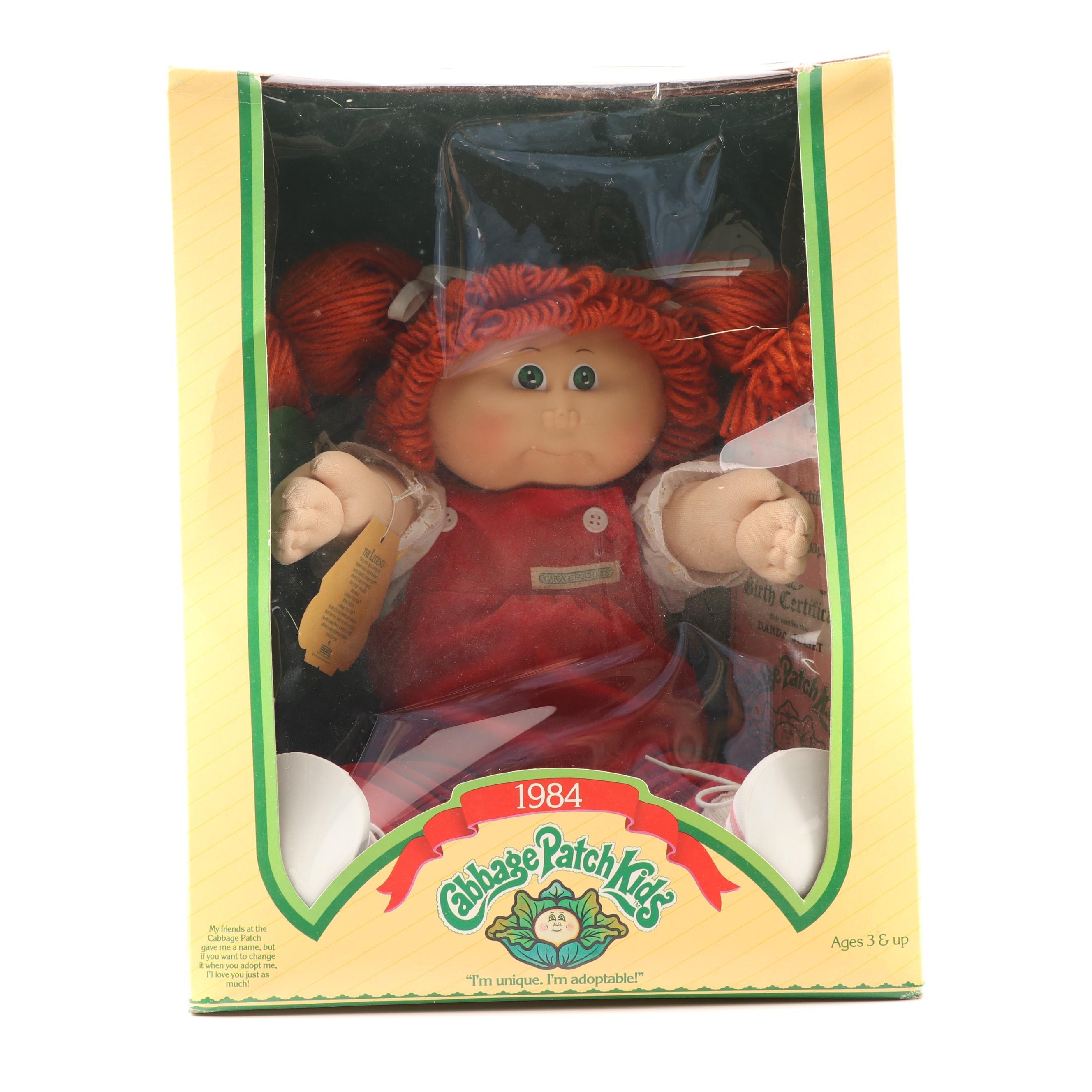 """Cabbage Patch Kids """"Darda Juliet"""", circa 1984"""