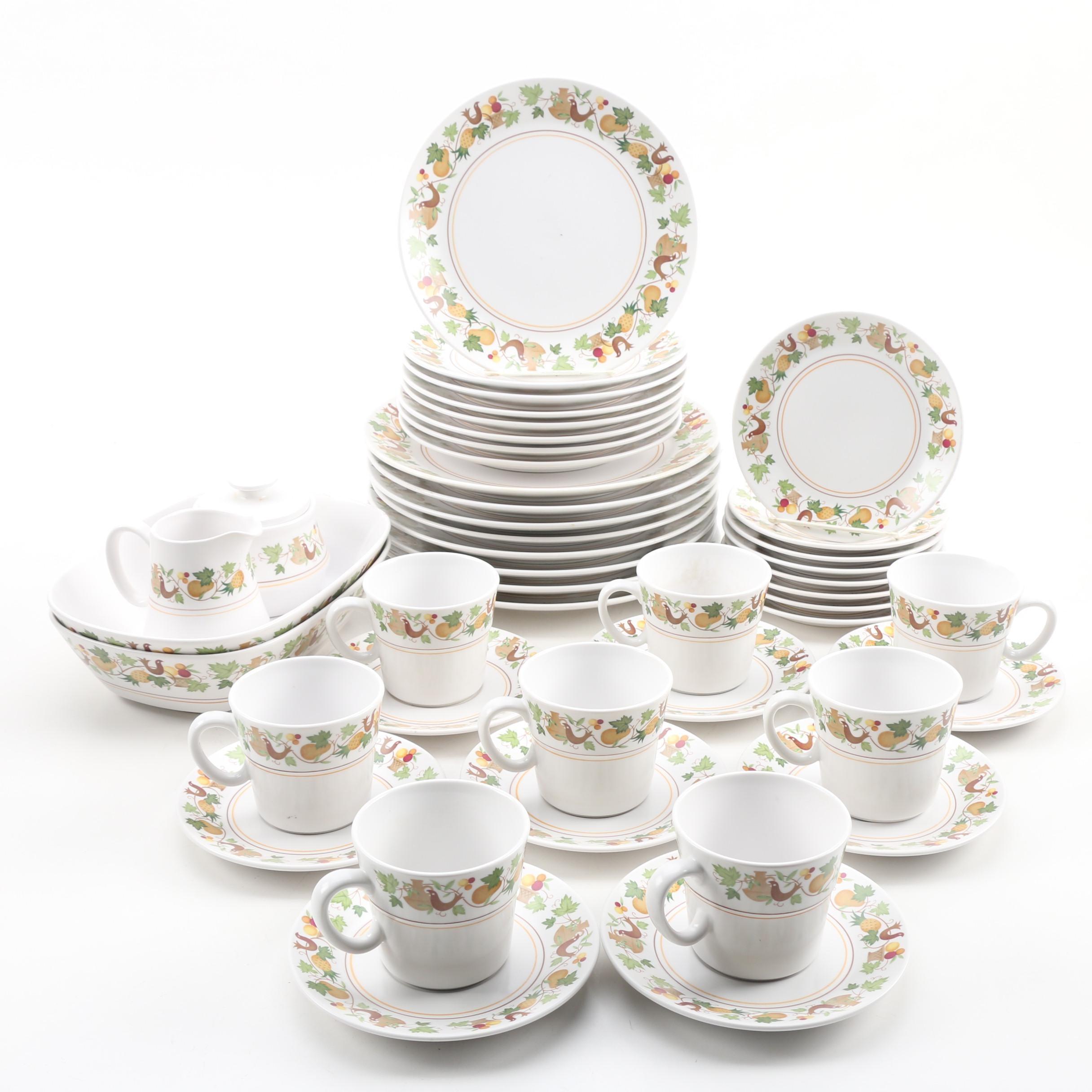 "Noritake Progression ""Homecoming"" Porcelain Dinnerware for Eight"