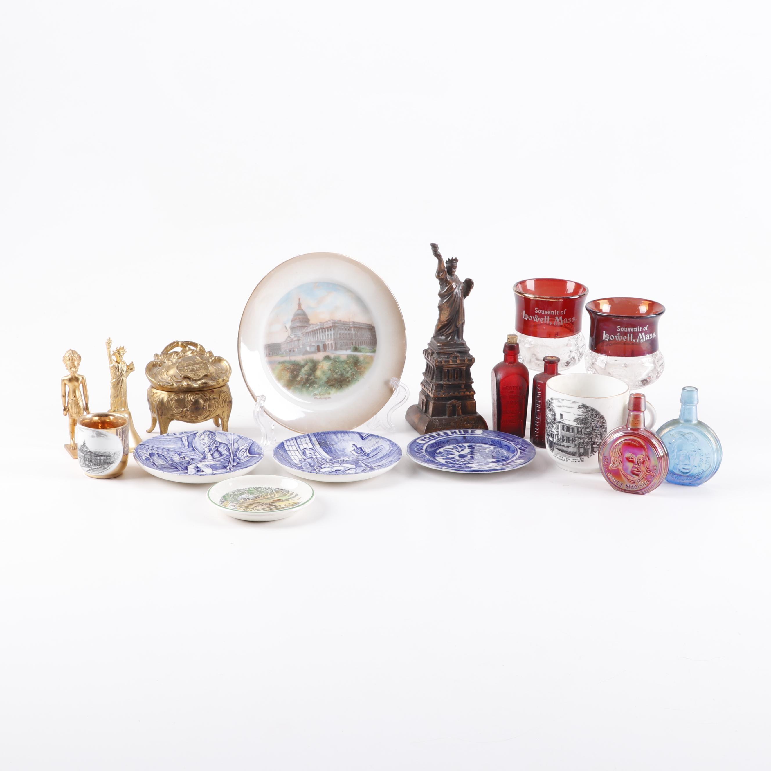Assortment of Souveniers