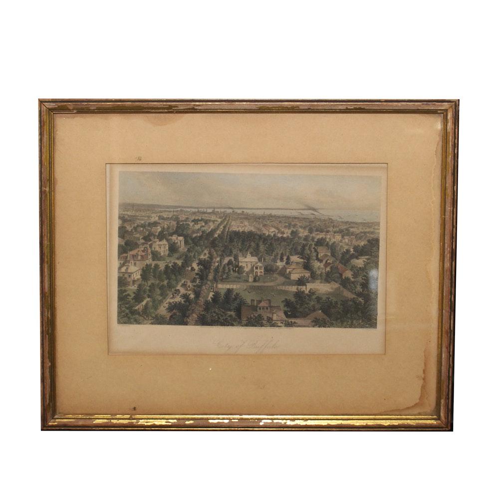 "D. Appleton & Co. Intaglio ""City of Buffalo"""