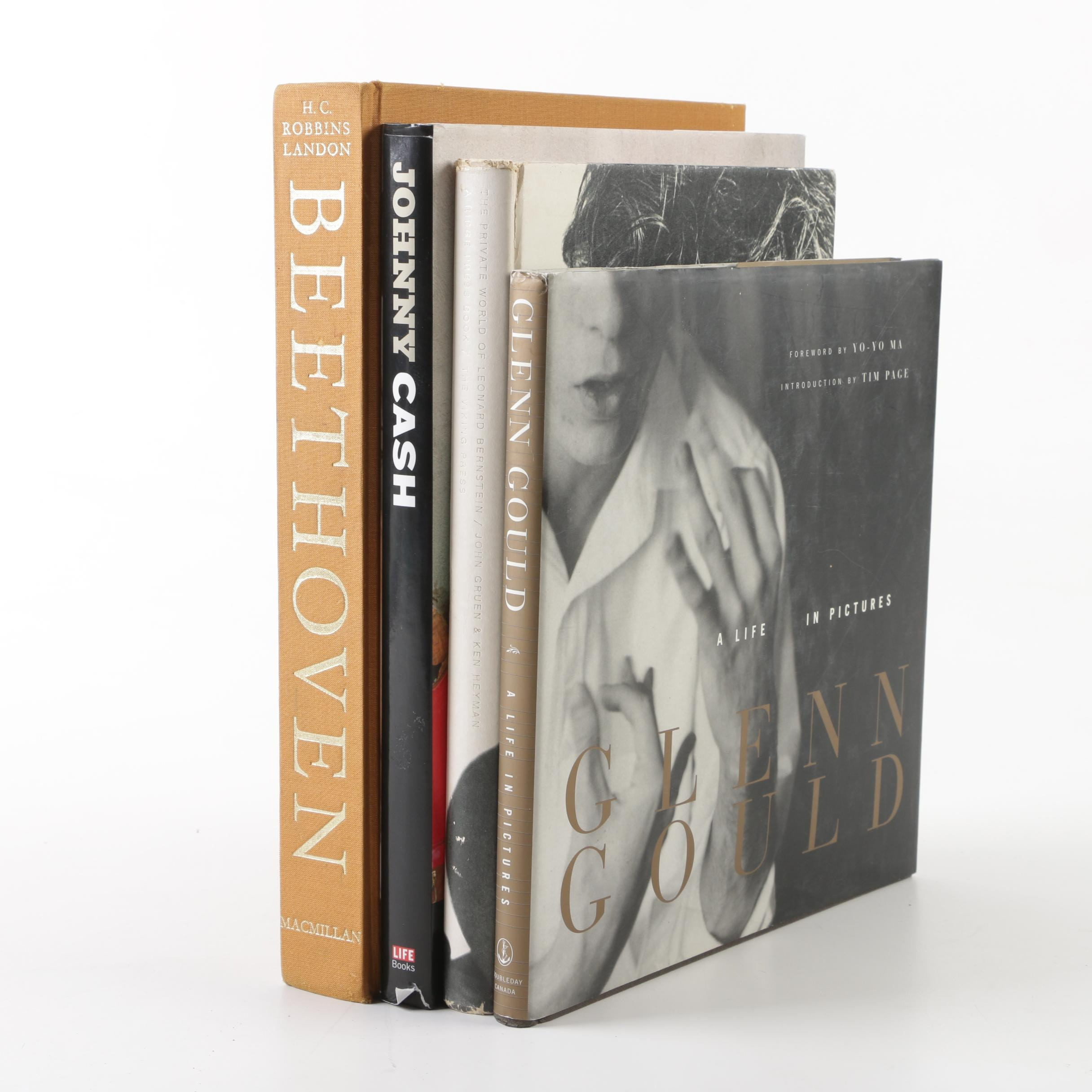 Musician and Composer Themed Coffee Table Books