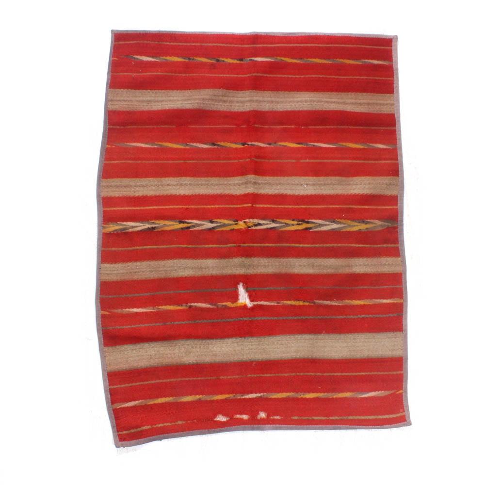 Power Loomed Southwestern Style Wool Rug
