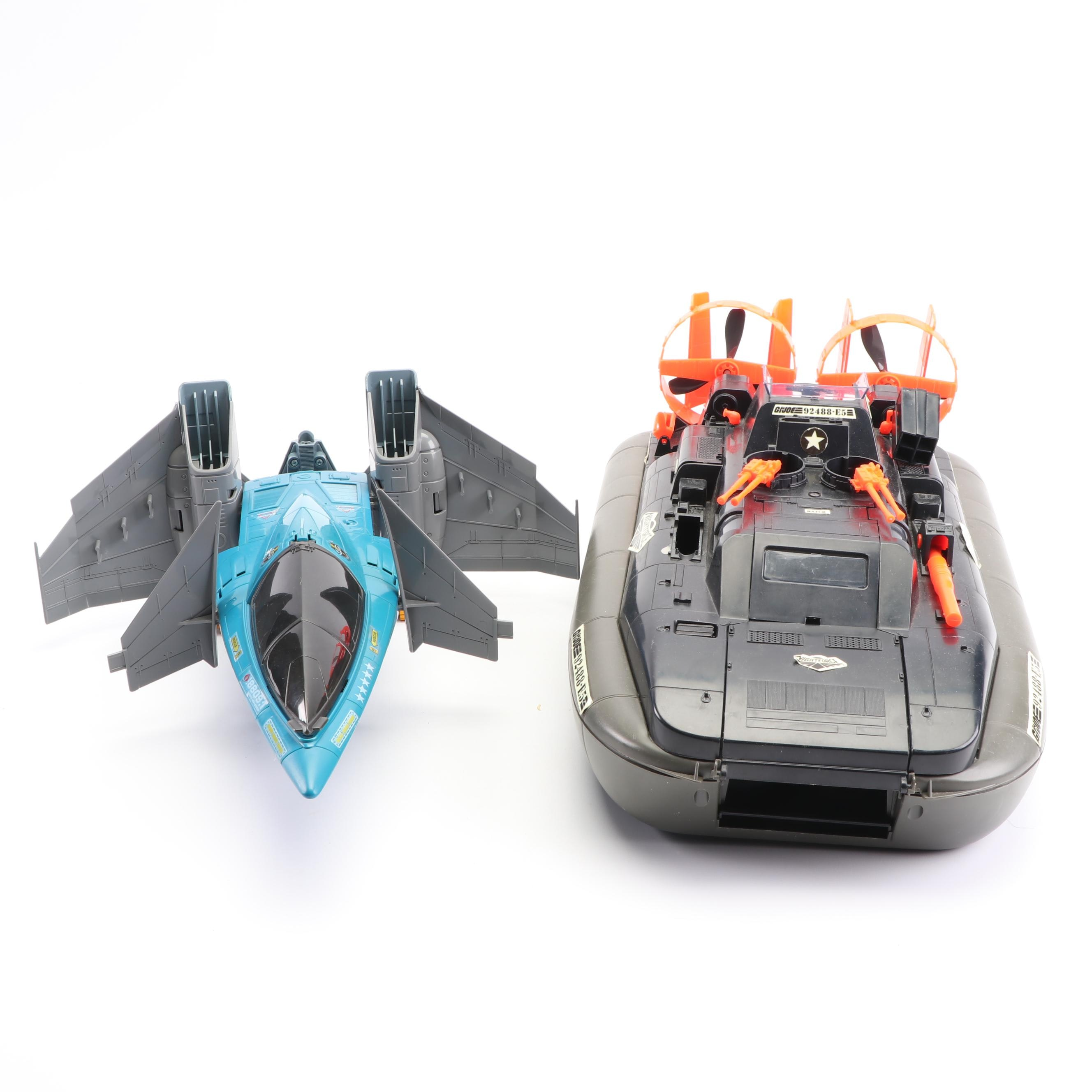G.I. Joe 92488-E5 Night Striker and LER 8809.1 Cobra Air-Legion Action Toys
