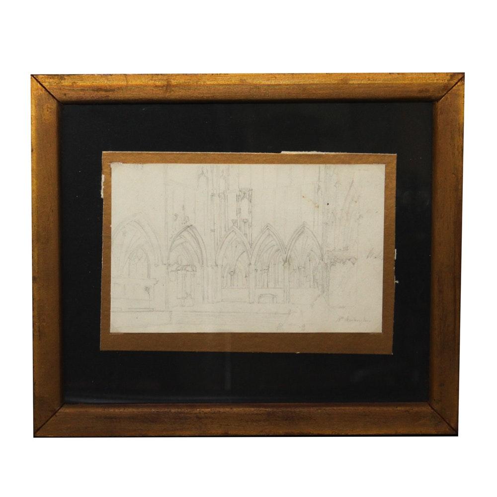 B. Beckington Architectural  Drawing