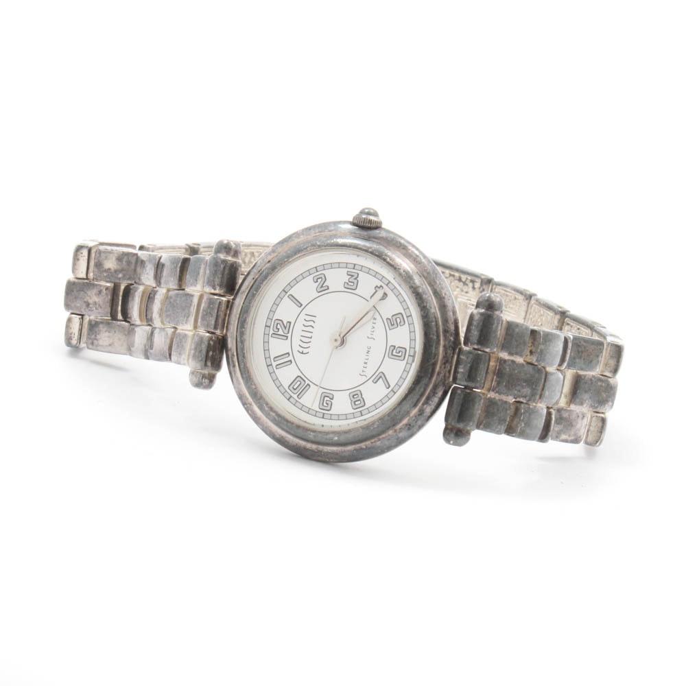 Ecclissi Sterling Silver Wristwatch