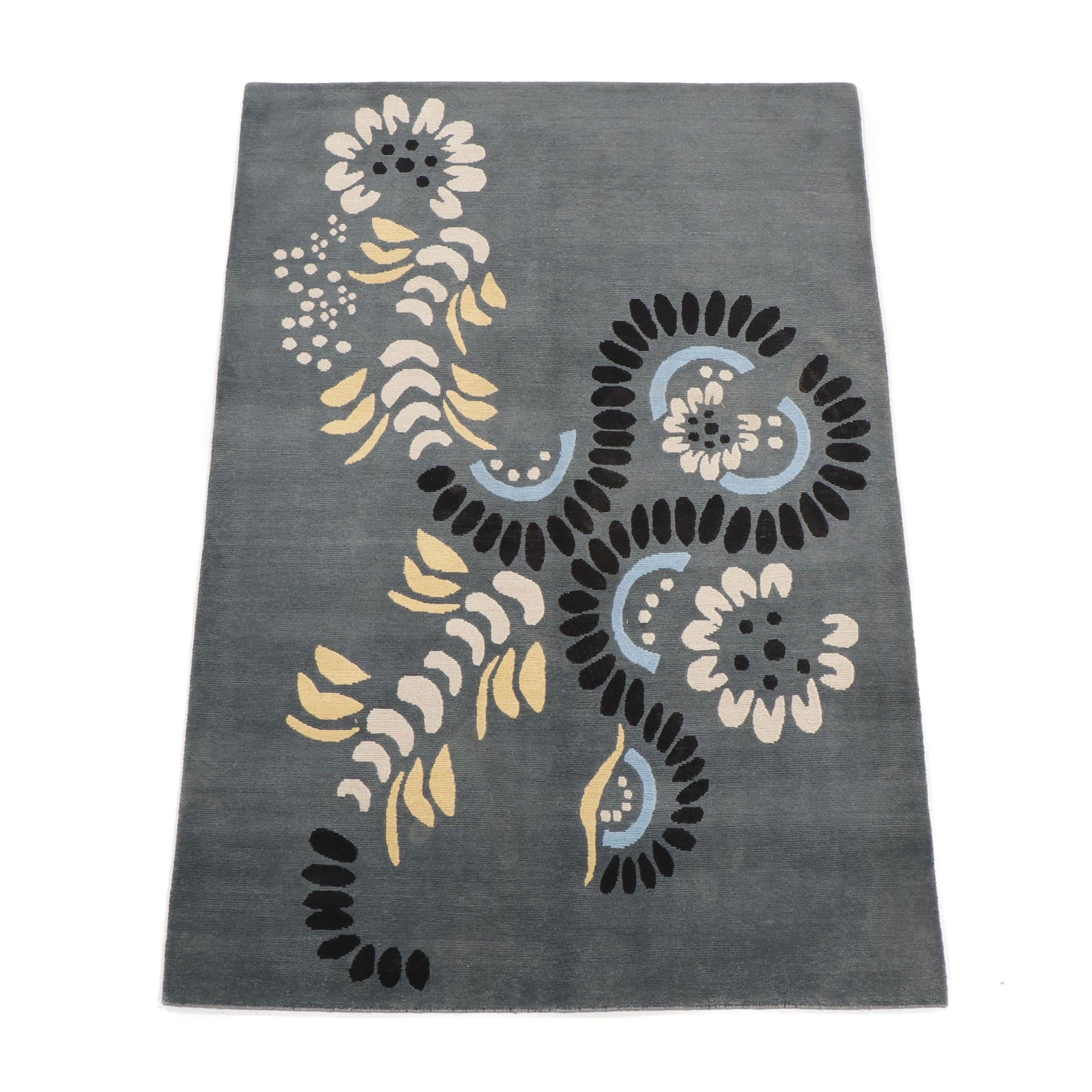 Hand Knotted Nepalese Wool Tibetan Wool Rug