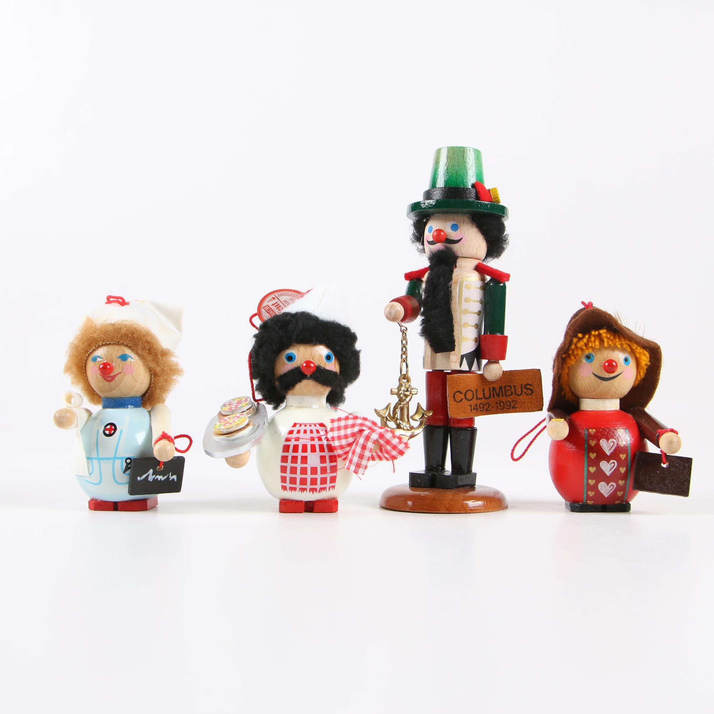 Steinbach Handmade German Nutcracker Ornaments