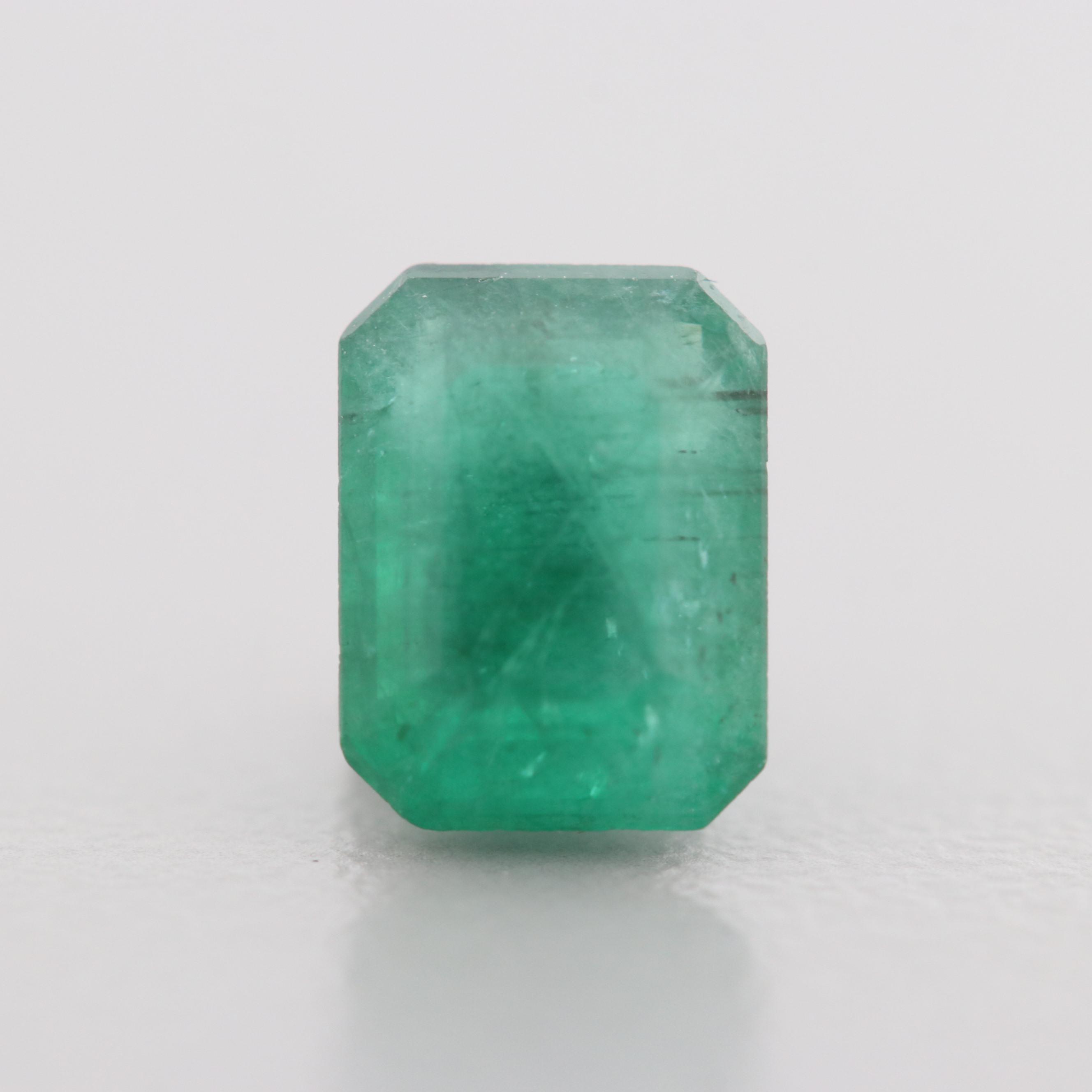 Loose 1.28 CT Emerald