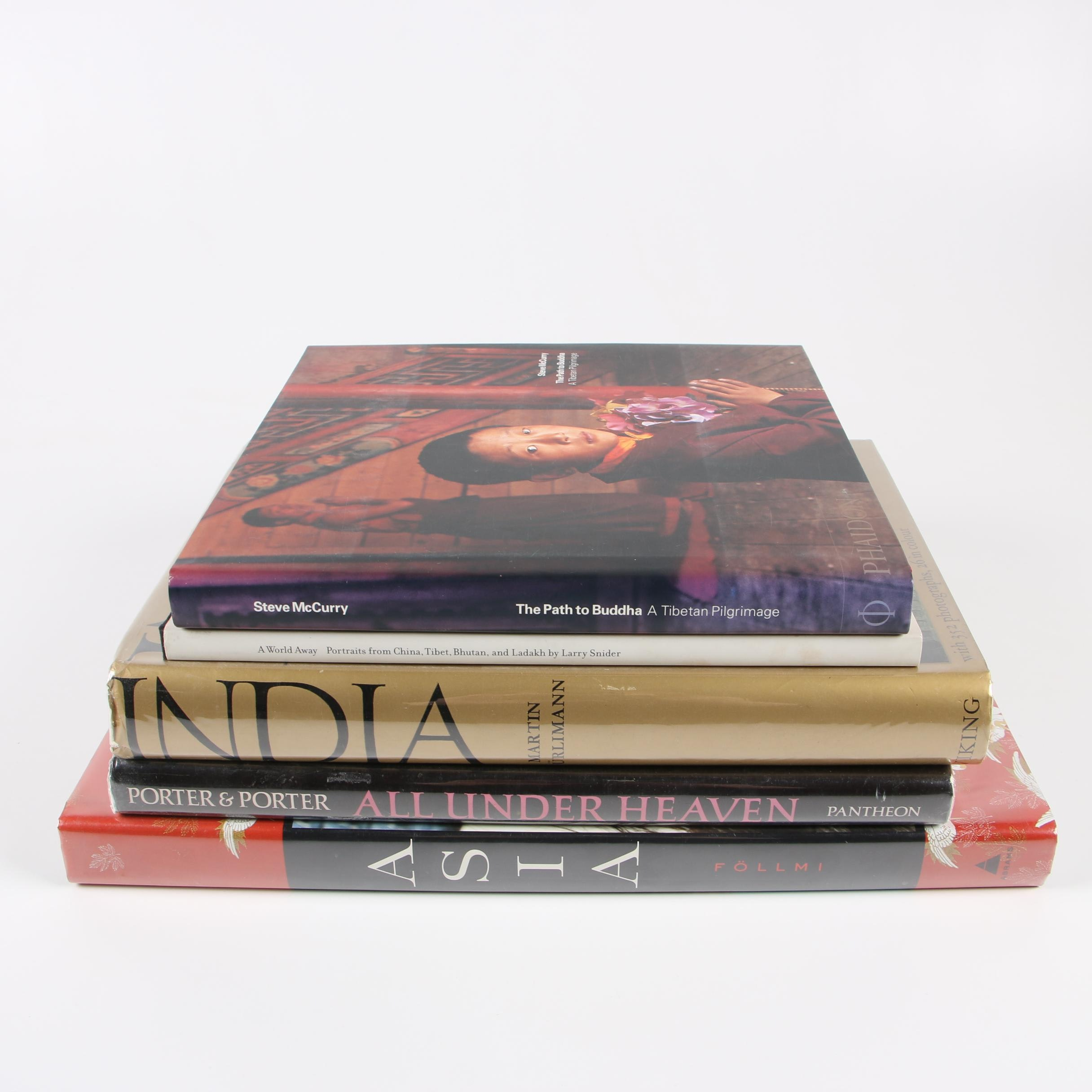 Asian Art, Architecture and Photography Coffee Table Books