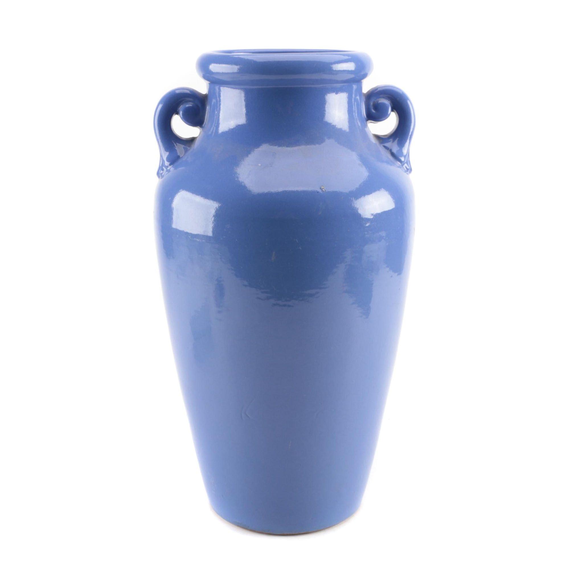 Robinson Ransbottom Ceramic Floor Vase, Mid-Century