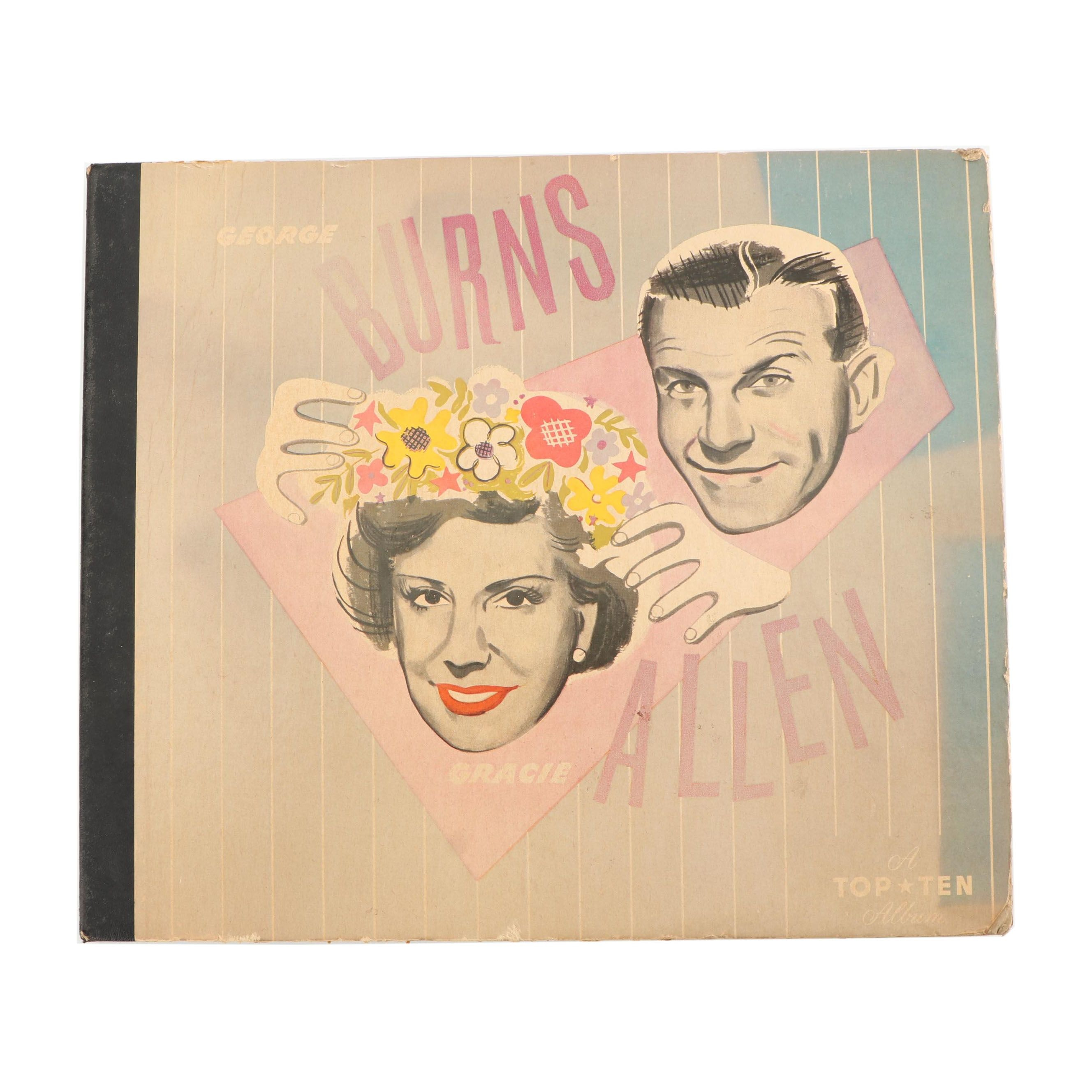 "George Burns & Gracie Allen ""Burns and Allen"" Records"