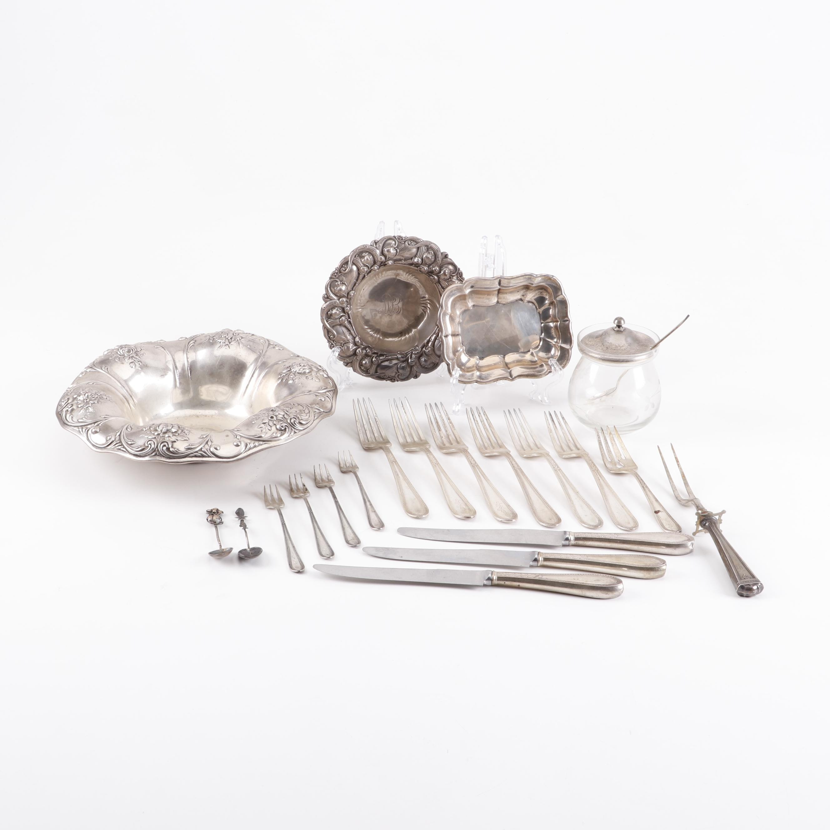 Sterling Silver Flatware and Tableware