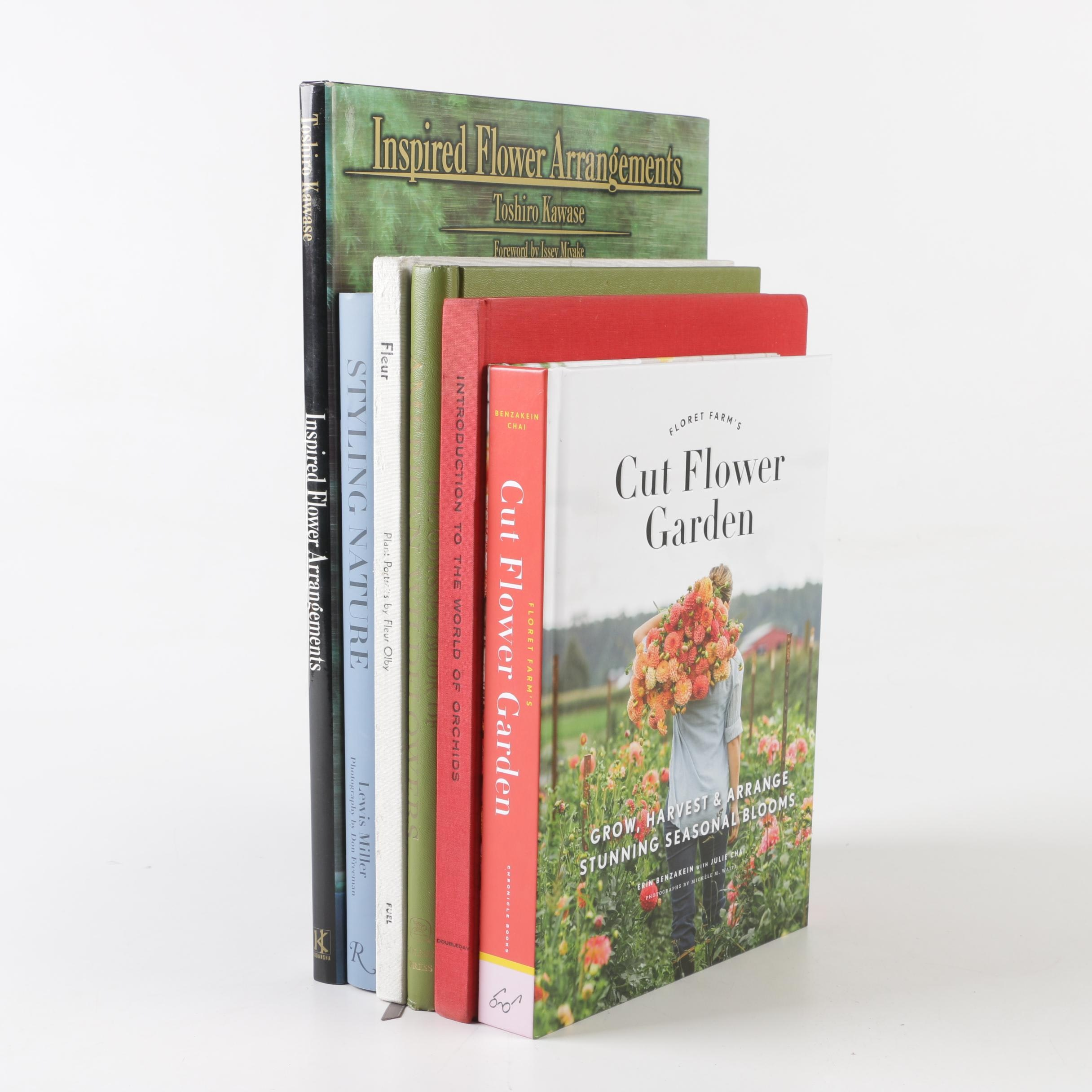 Floral and Gardening Books