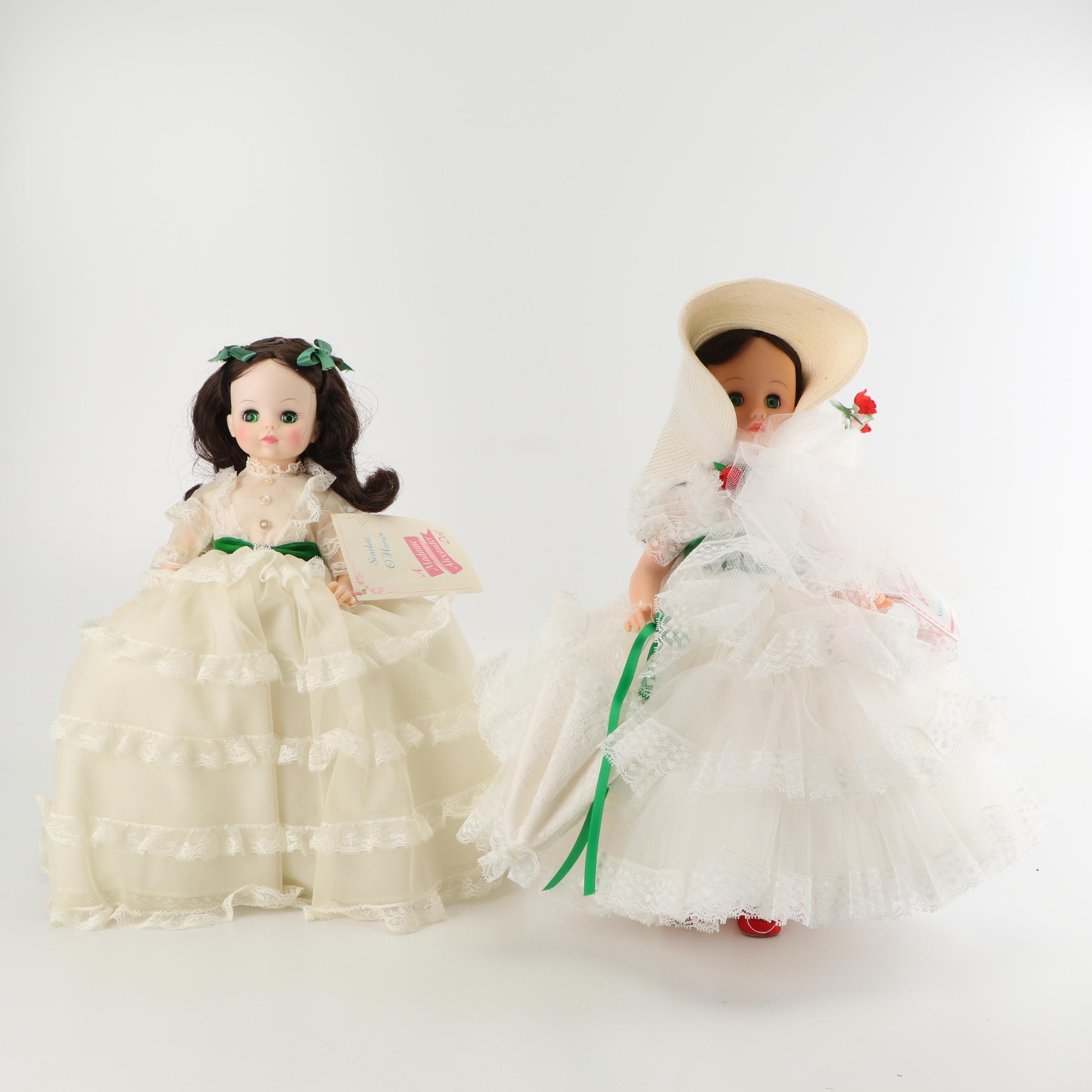 Madame Alexander Scarlett O'Hara Dolls
