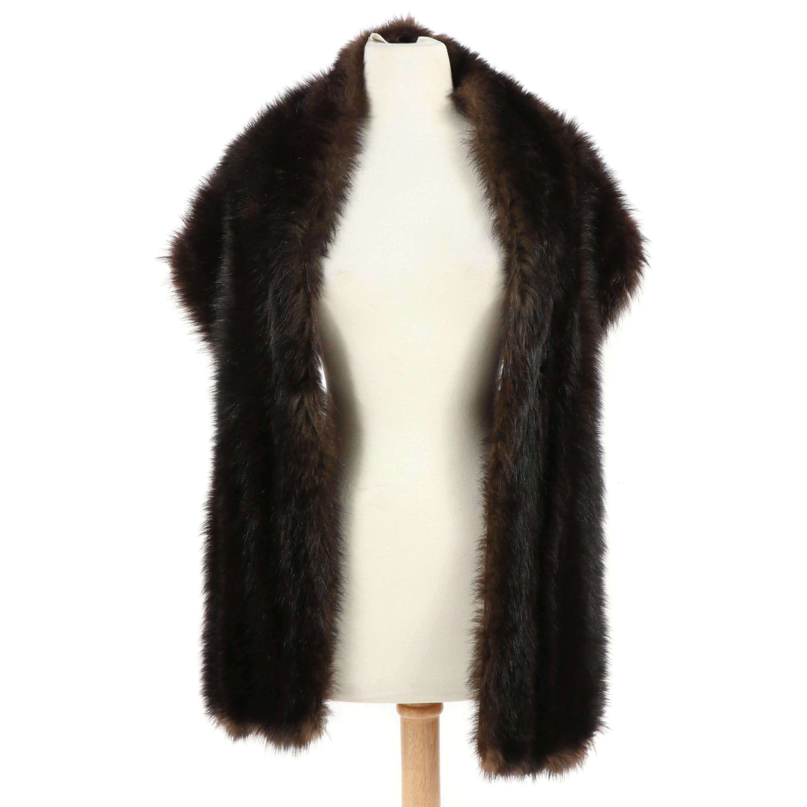 Women's Palm Civet Fur Stole