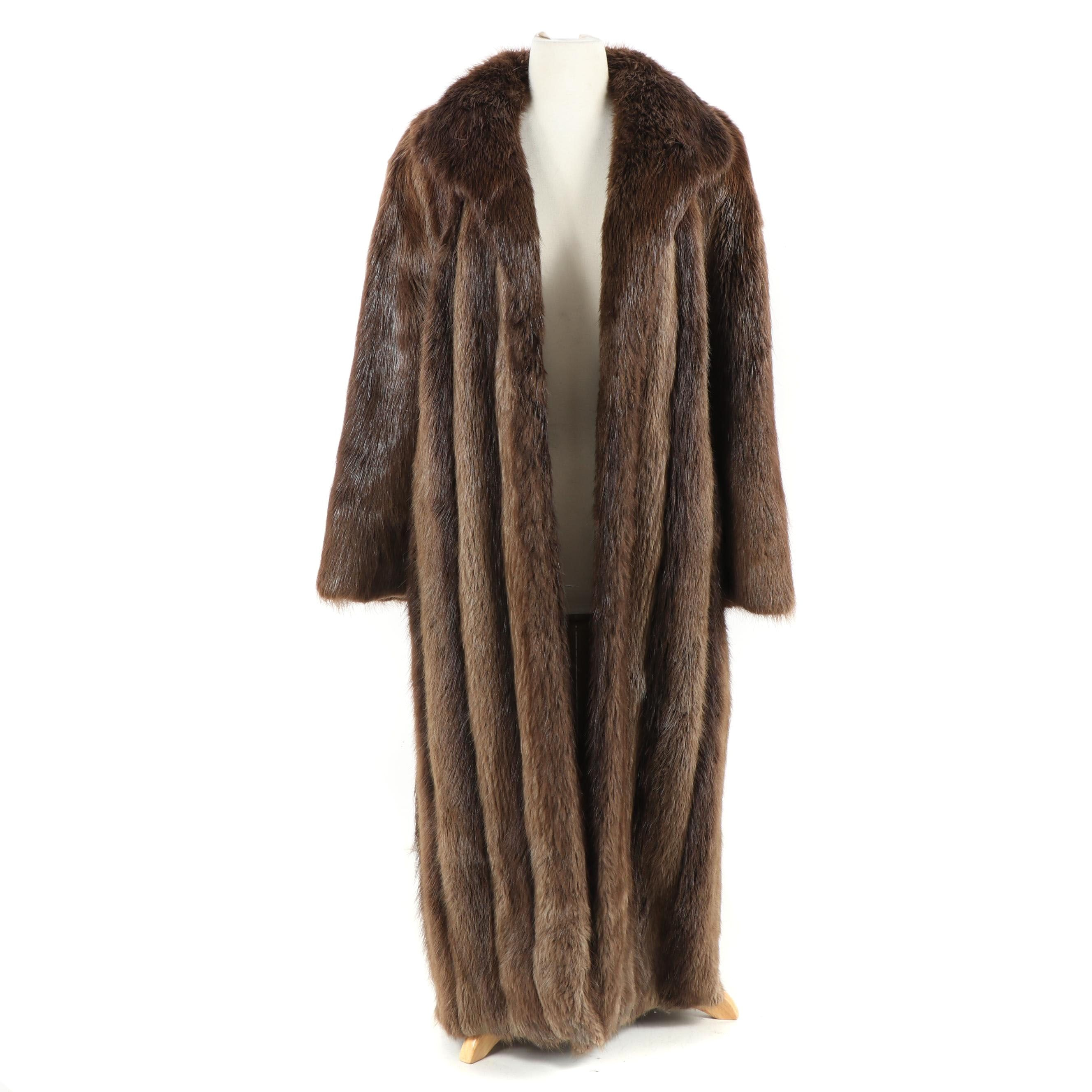 Women's Beaver Fur Coat from The Fur Centre, Vintage