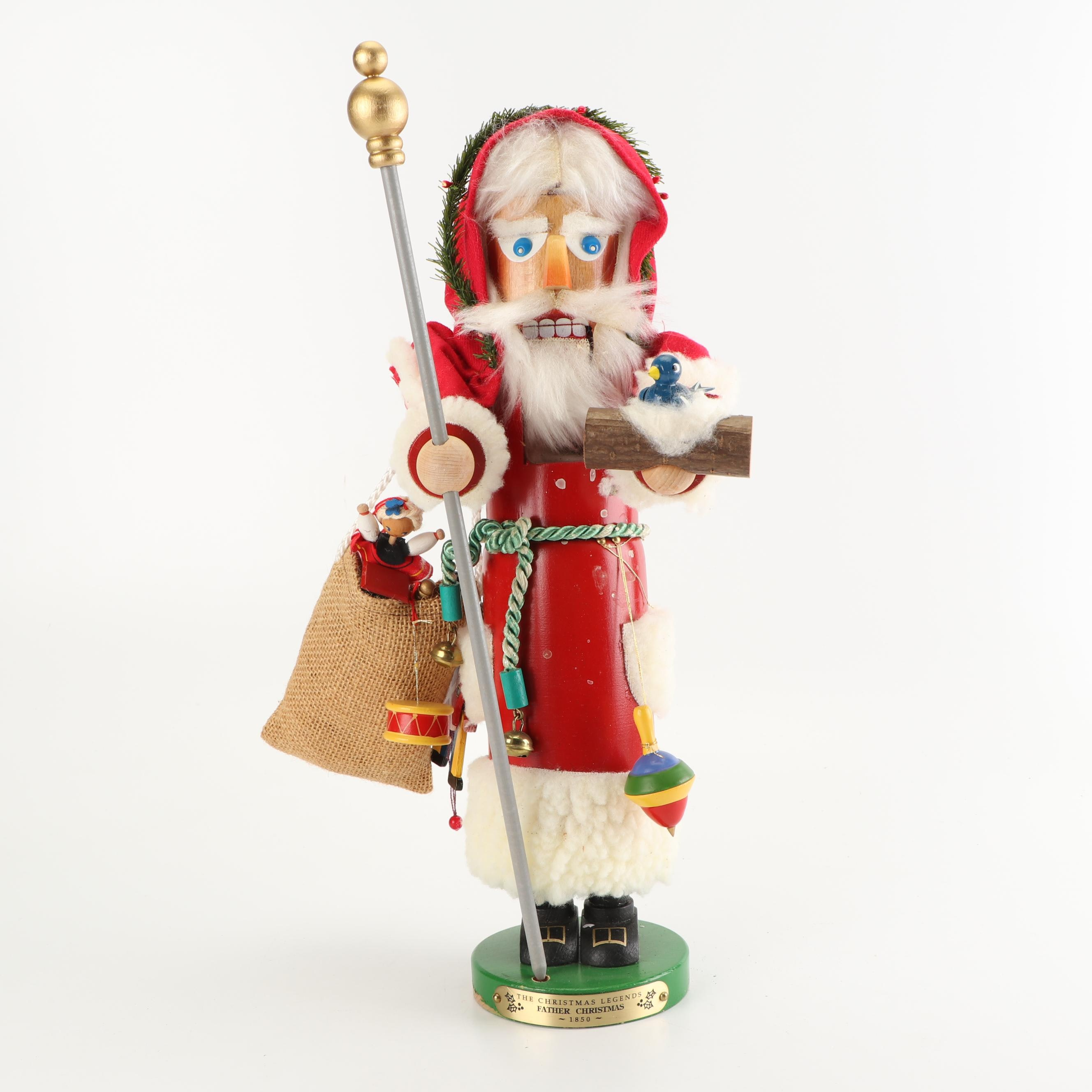 Steinbach Father Christmas Nut Cracker