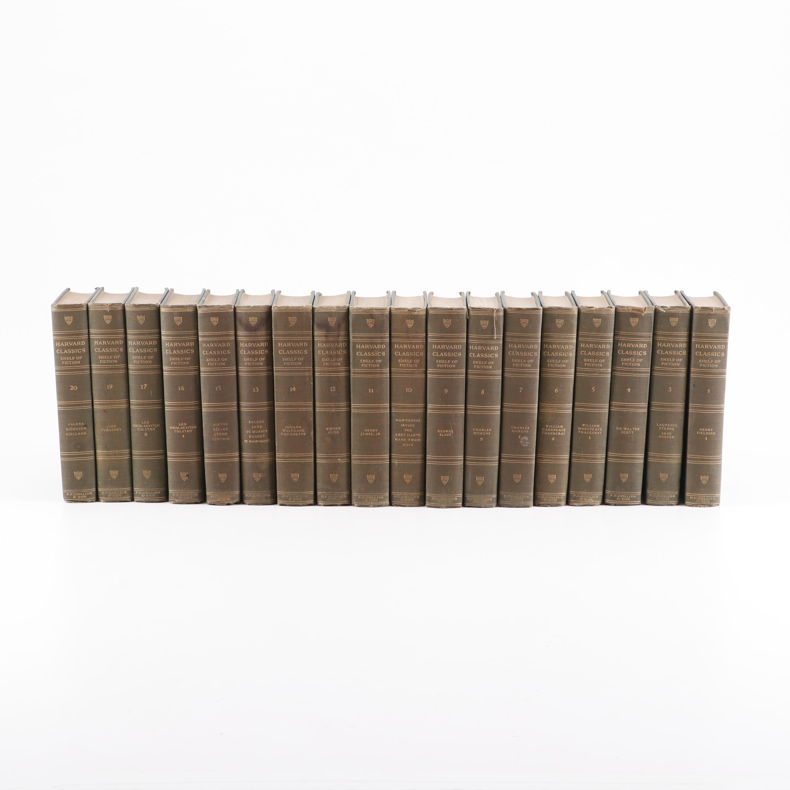 "1917 ""The Harvard Classics Volumes 1-20"" Edited by William Alan Neilson Ph.D"