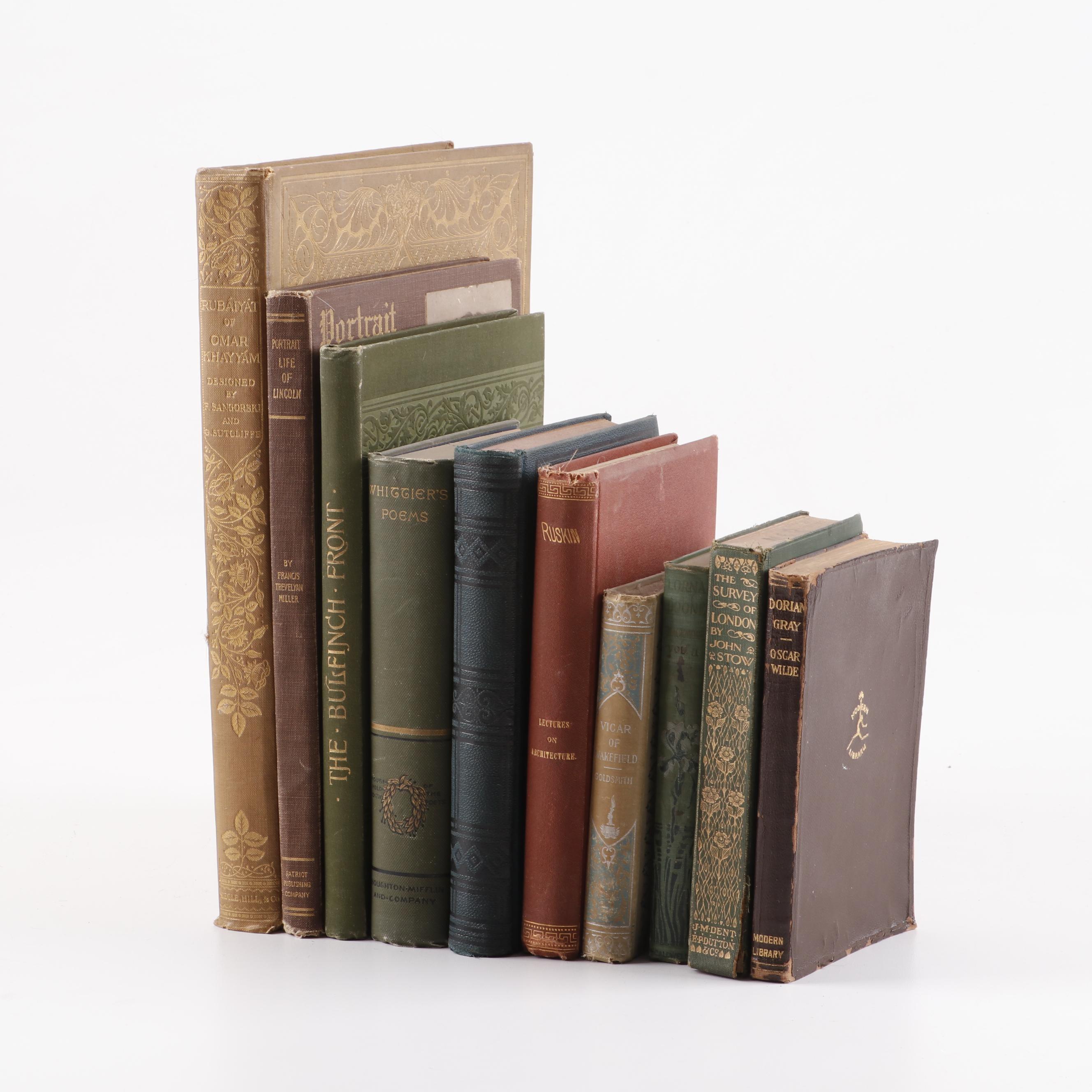 """Rubáiyát of Omar Khayyám"" and Other Texts, Early 20th Century"
