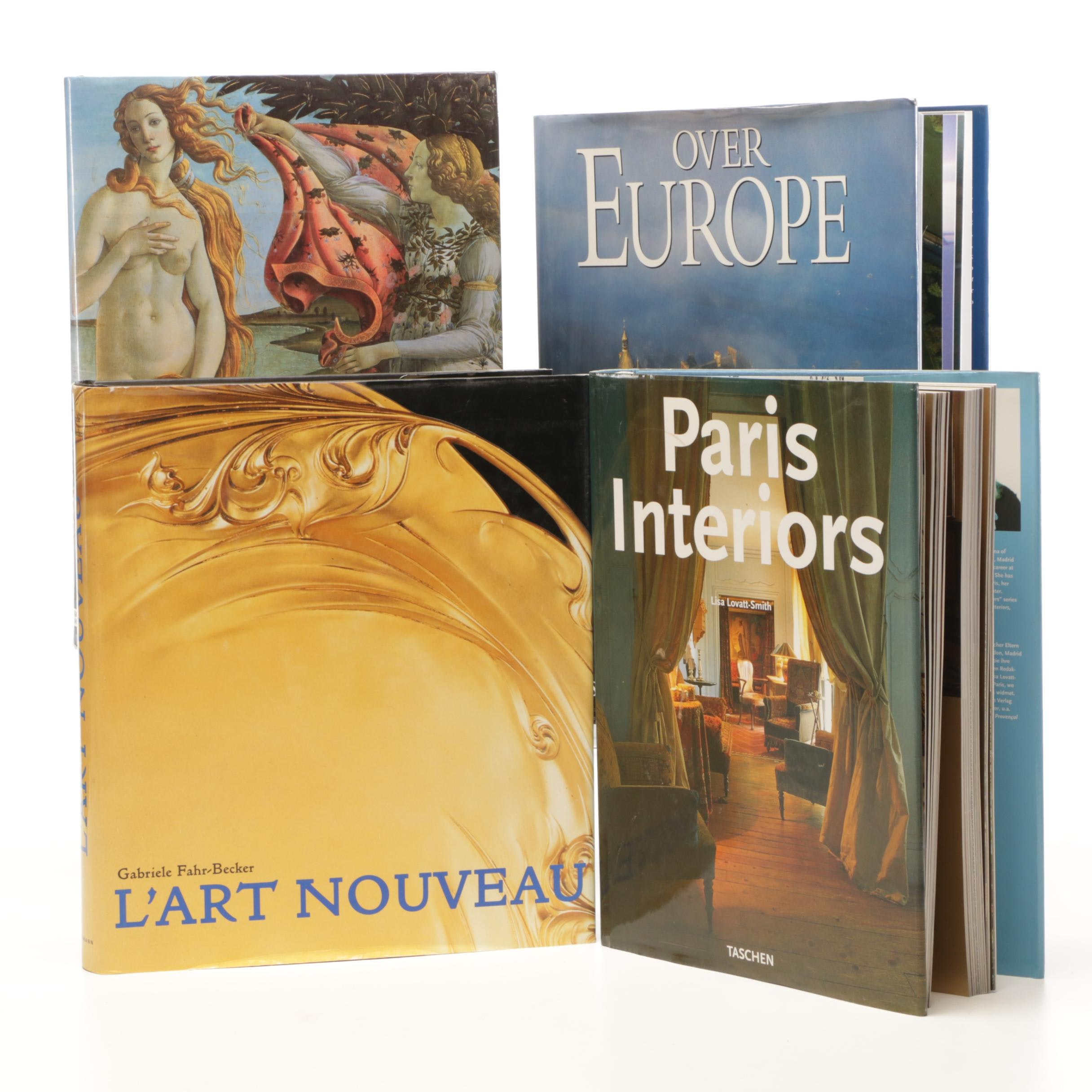 Art and Parisian Interior Design Books