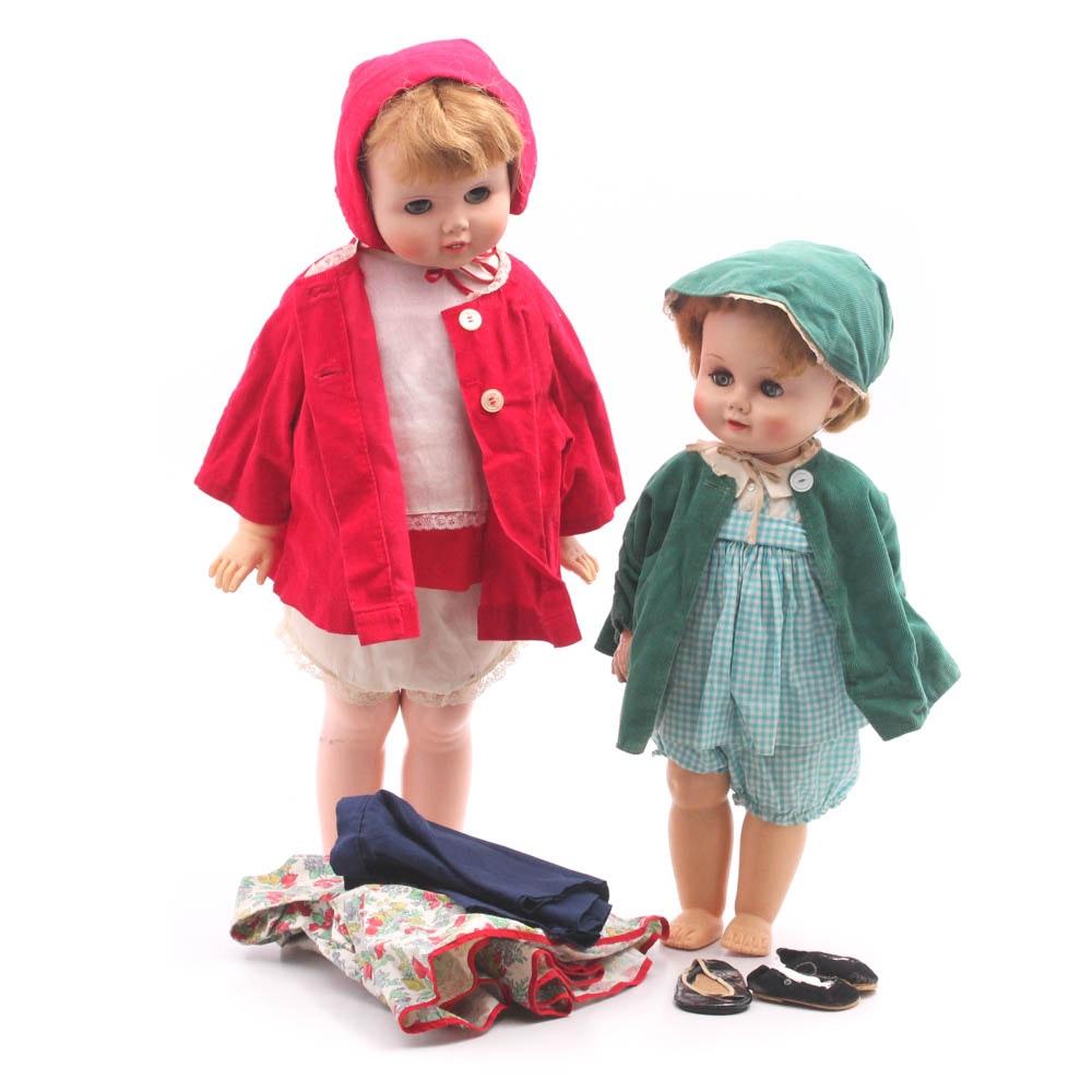 1950s Walker Dolls Including Madame Alexander