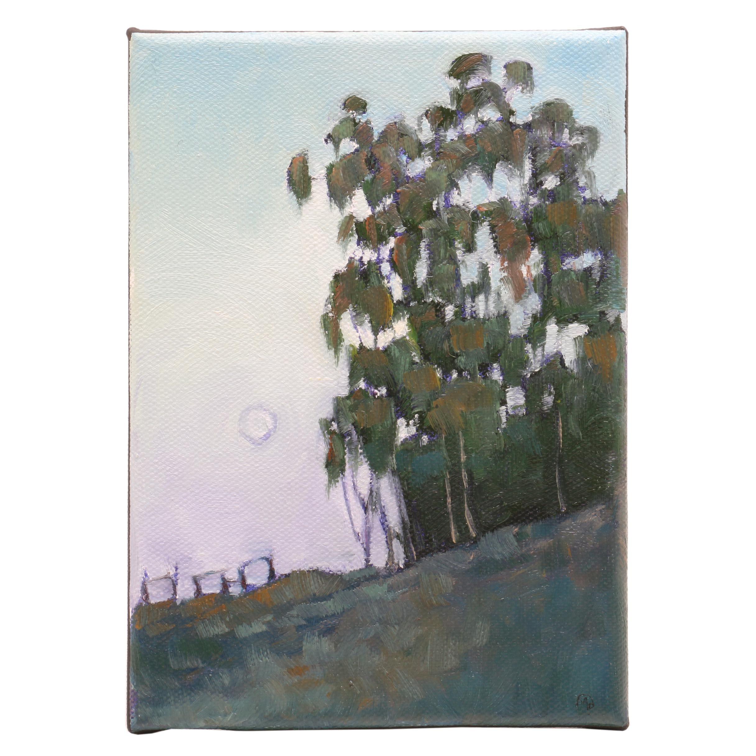 Maureen Hanson Landscape Oil Painting