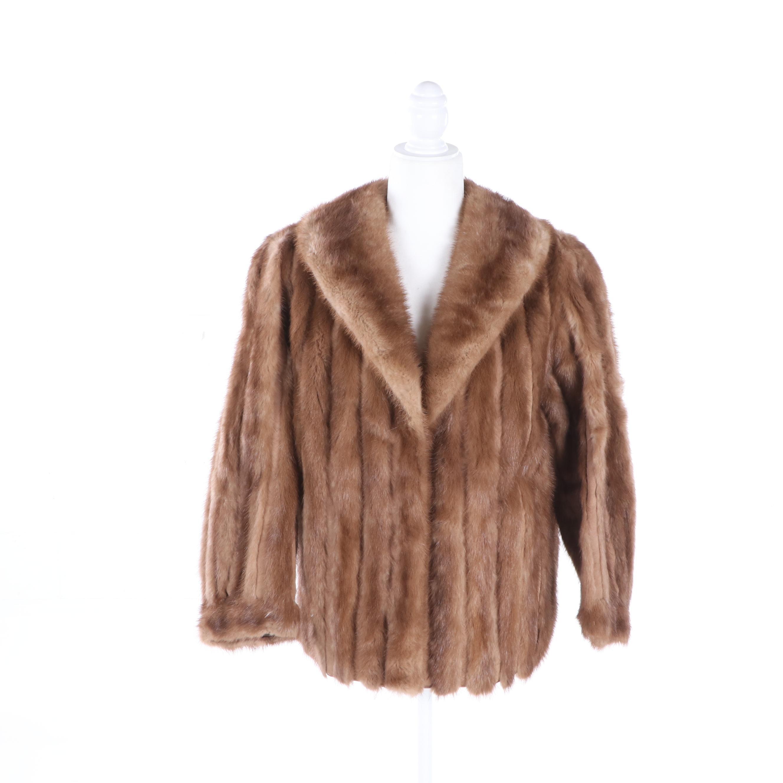 Women's F.J. Sergi Mink Coat